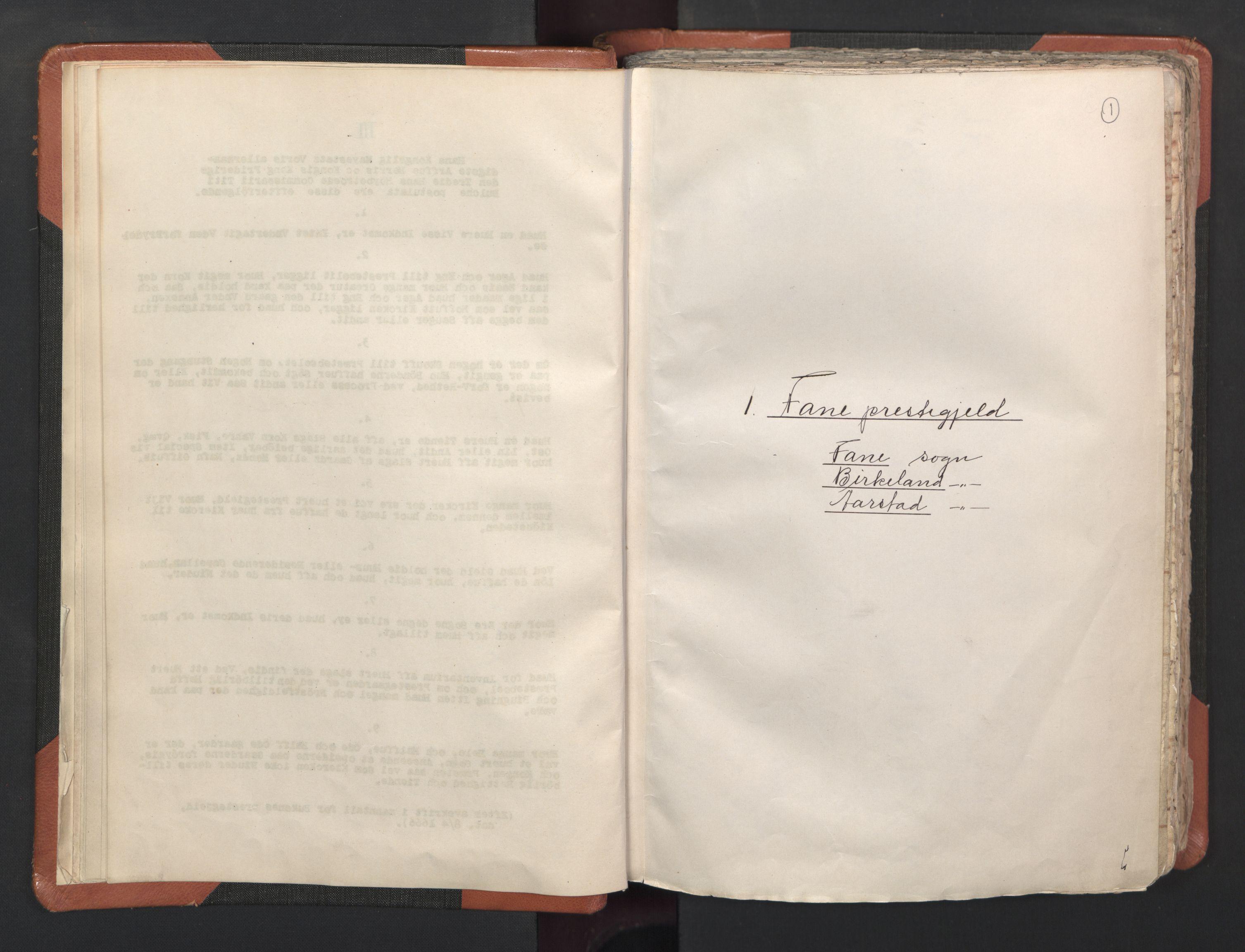 RA, Sogneprestenes manntall 1664-1666, nr. 22: Nordhordland prosti, 1664-1666, s. 1