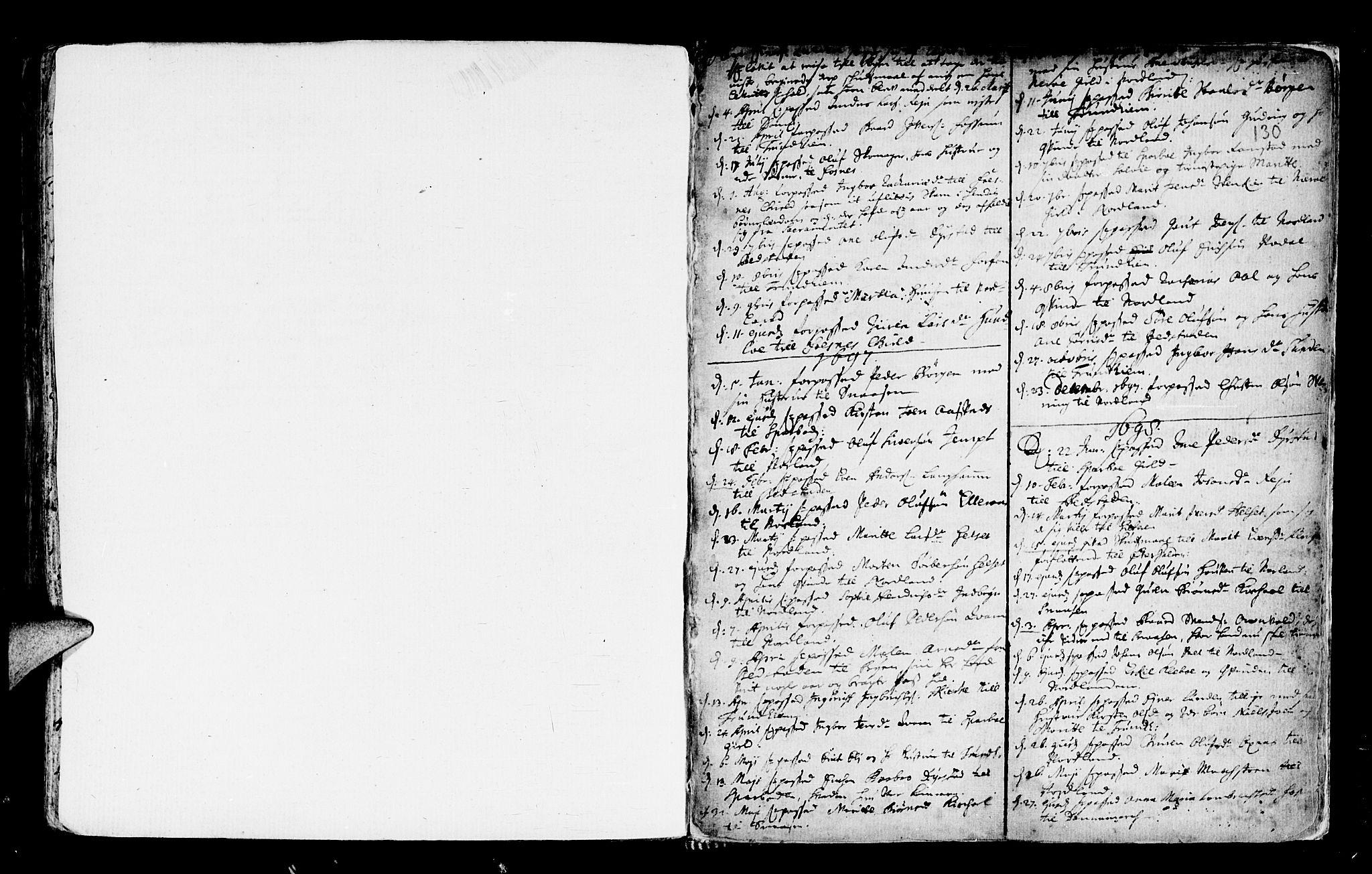 SAT, Ministerialprotokoller, klokkerbøker og fødselsregistre - Nord-Trøndelag, 746/L0439: Ministerialbok nr. 746A01, 1688-1759, s. 130