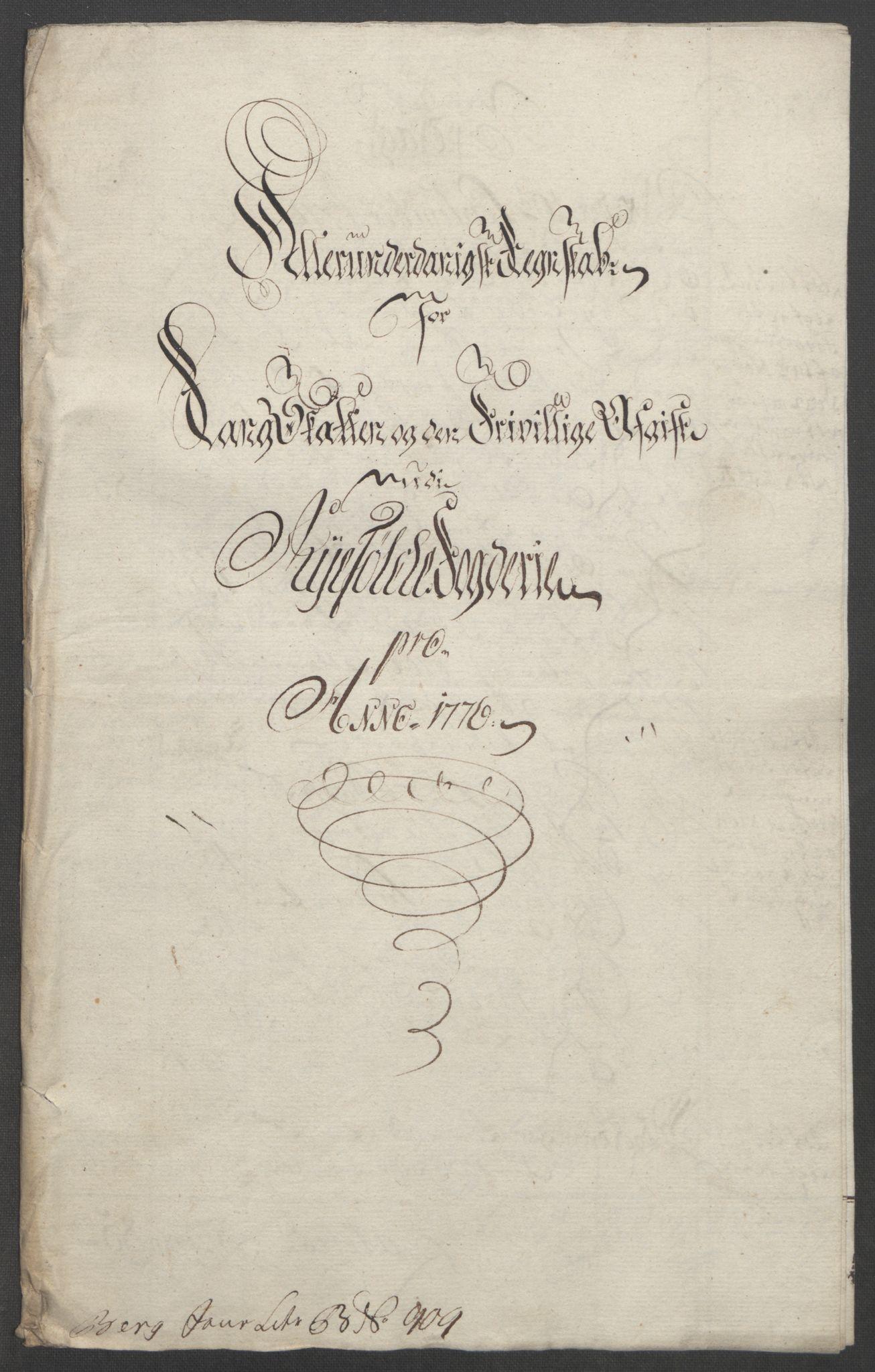 RA, Rentekammeret inntil 1814, Reviderte regnskaper, Fogderegnskap, R47/L2972: Ekstraskatten Ryfylke, 1762-1780, s. 540