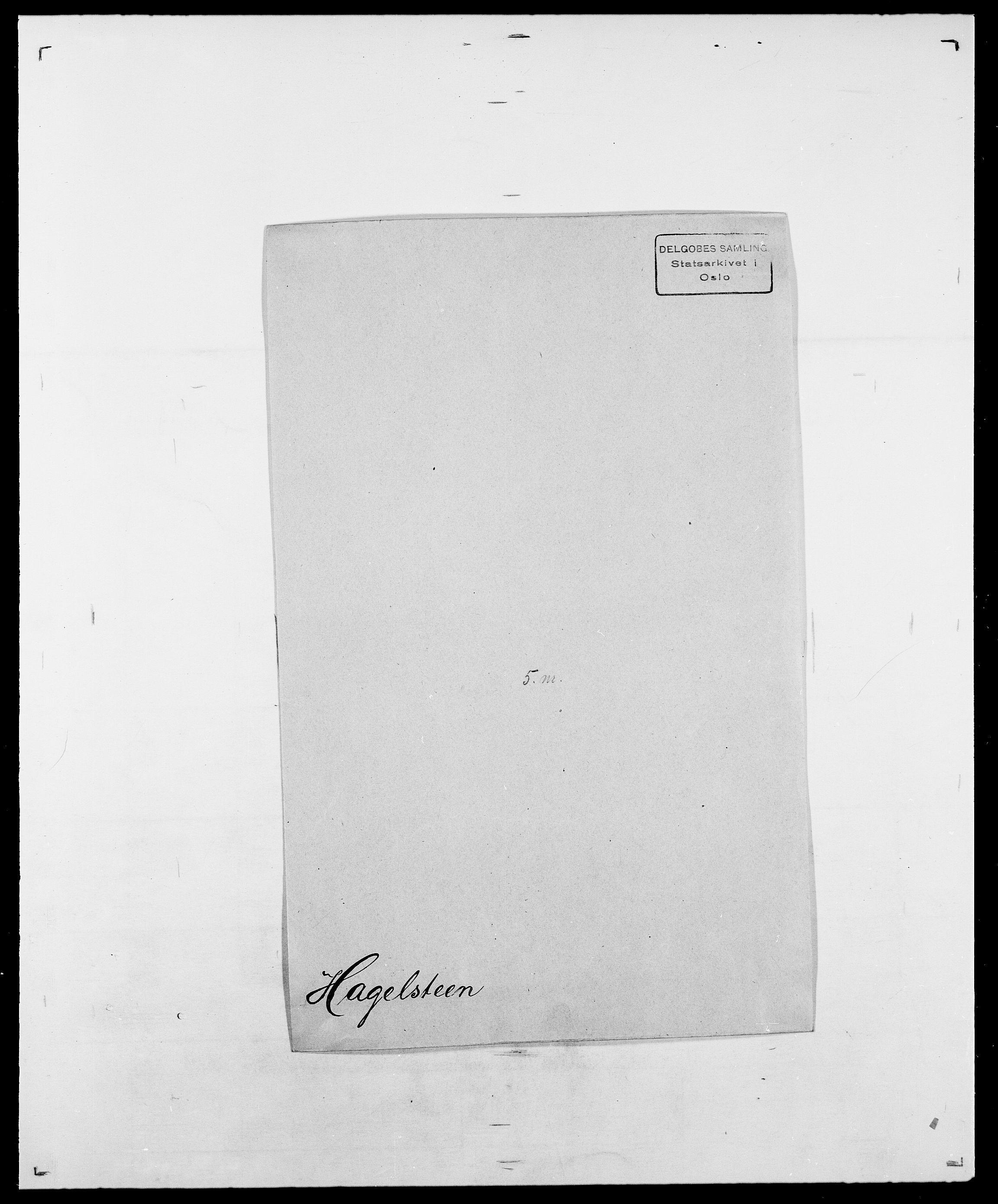 SAO, Delgobe, Charles Antoine - samling, D/Da/L0015: Grodtshilling - Halvorsæth, s. 665