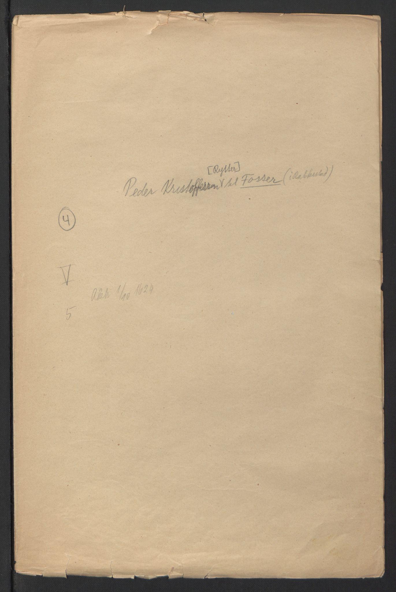 RA, Stattholderembetet 1572-1771, Ek/L0007: Jordebøker til utlikning av rosstjeneste 1624-1626:, 1624-1625, s. 175