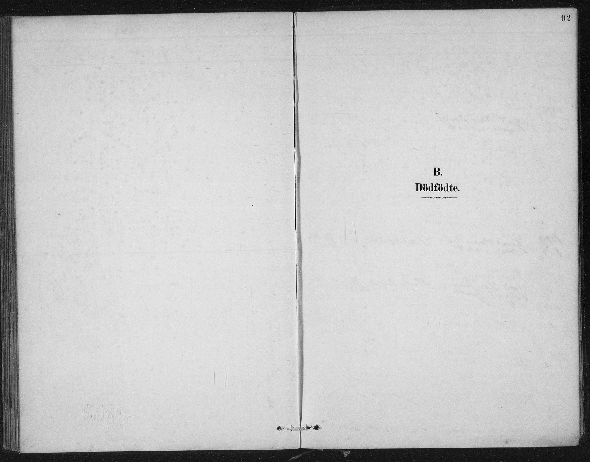 SAST, Nedstrand sokneprestkontor, IV: Ministerialbok nr. A 12, 1887-1915, s. 92