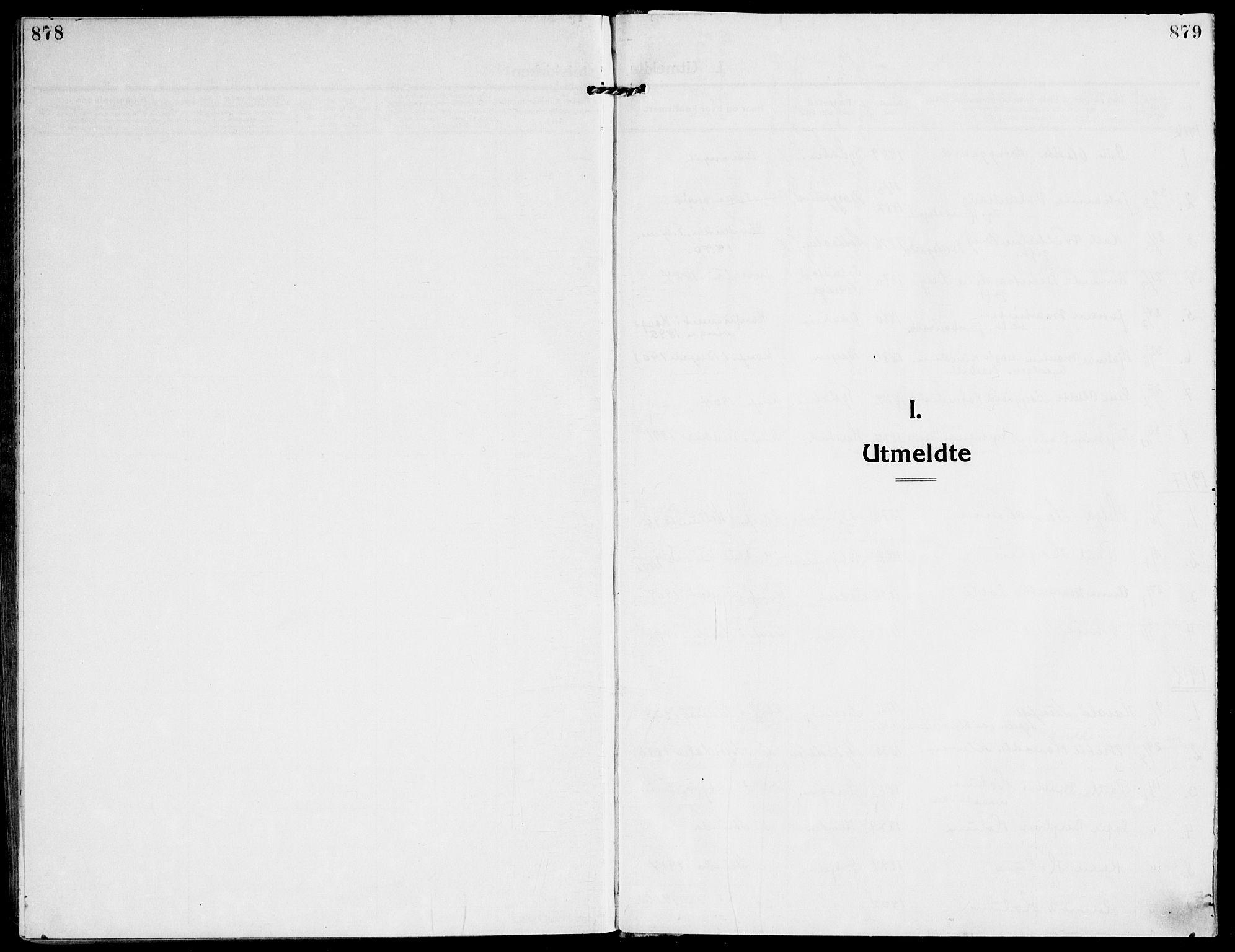 SAT, Ministerialprotokoller, klokkerbøker og fødselsregistre - Sør-Trøndelag, 607/L0321: Ministerialbok nr. 607A05, 1916-1935, s. 878-879
