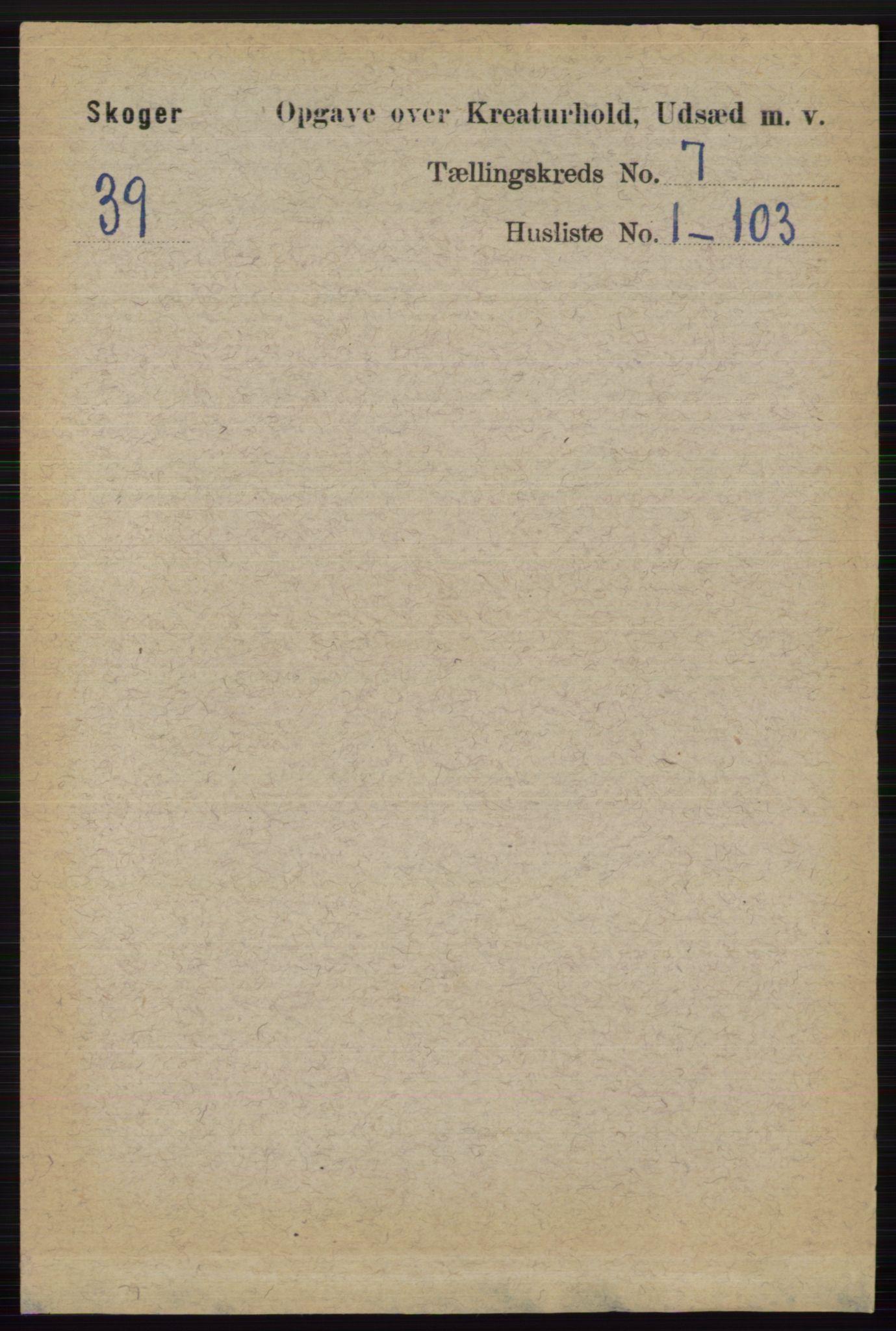 RA, Folketelling 1891 for 0712 Skoger herred, 1891, s. 5205