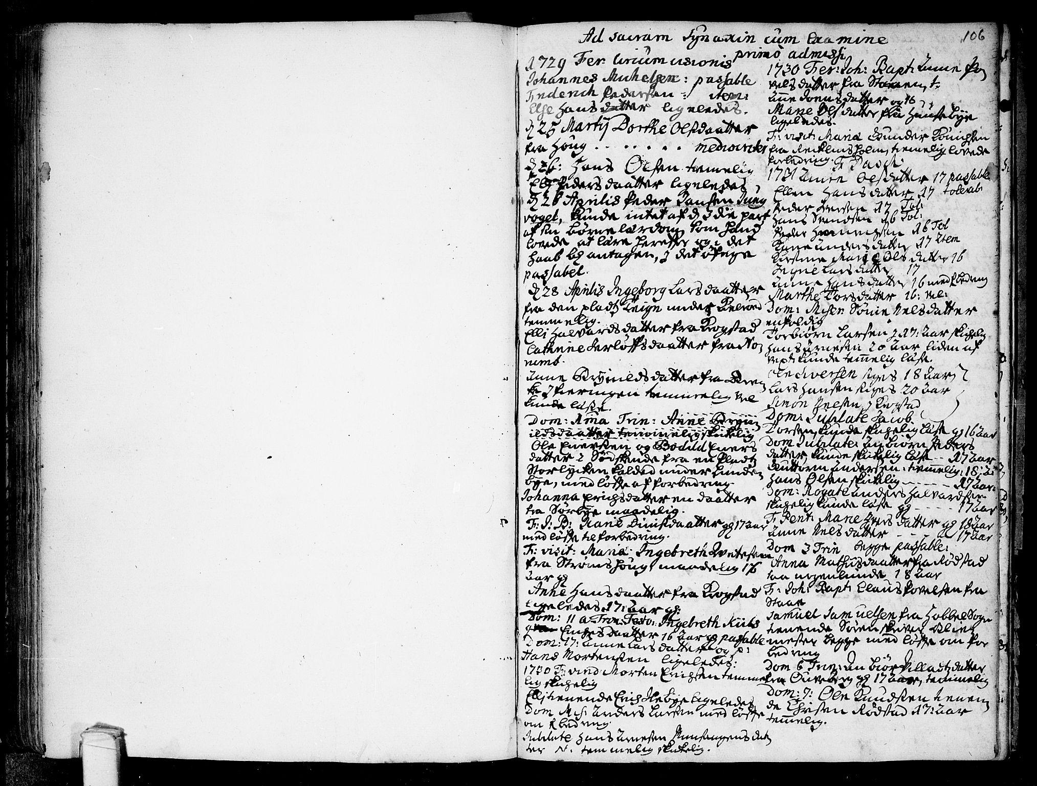 SAO, Råde prestekontor kirkebøker, F/Fa/L0001: Ministerialbok nr. 1, 1707-1762, s. 106