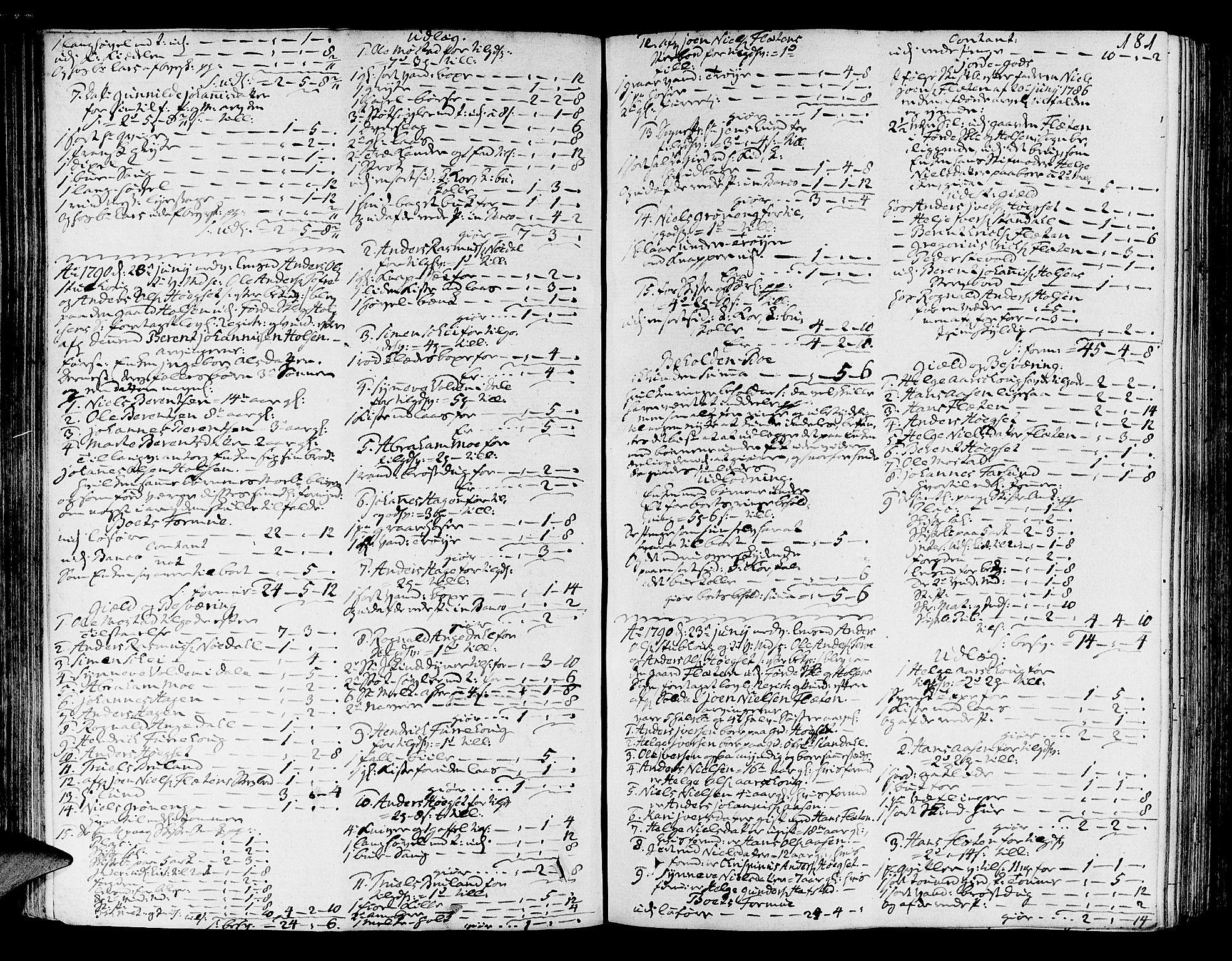 SAB, Sunnfjord tingrett, H/Ha/Hab, 1787-1798, s. 180b-181a