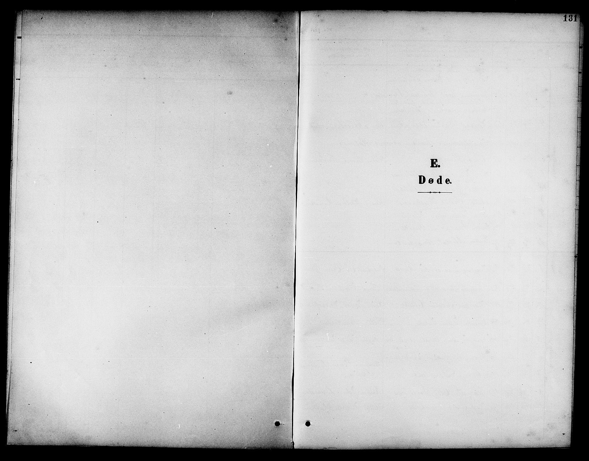 SAT, Ministerialprotokoller, klokkerbøker og fødselsregistre - Nord-Trøndelag, 741/L0401: Klokkerbok nr. 741C02, 1899-1911, s. 131