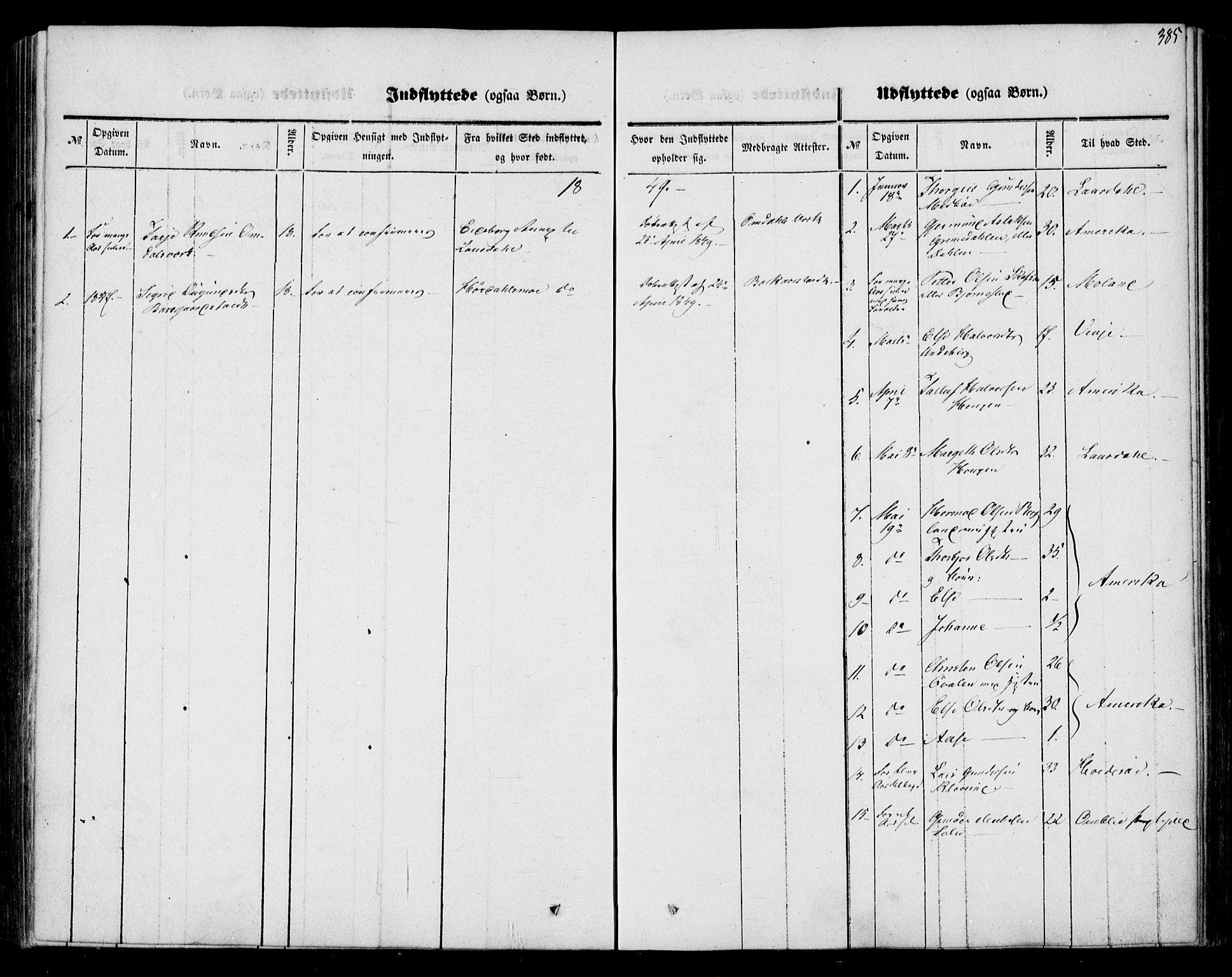 SAKO, Mo kirkebøker, F/Fa/L0005: Ministerialbok nr. I 5, 1844-1864, s. 385