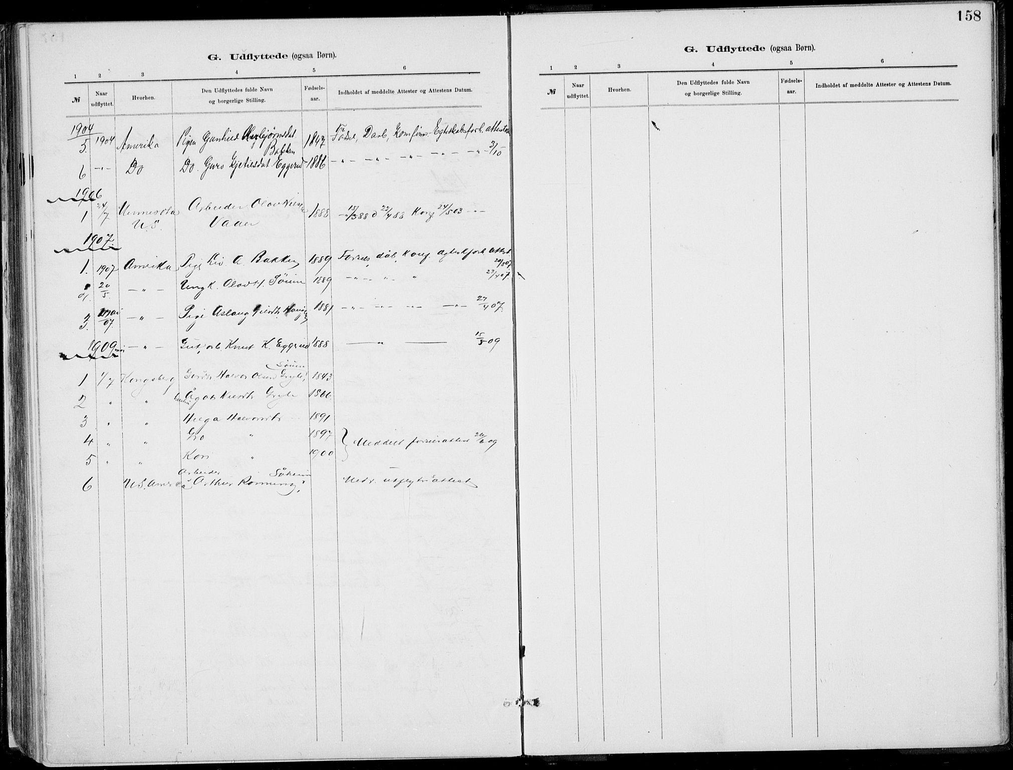 SAKO, Rjukan kirkebøker, F/Fa/L0001: Ministerialbok nr. 1, 1878-1912, s. 158