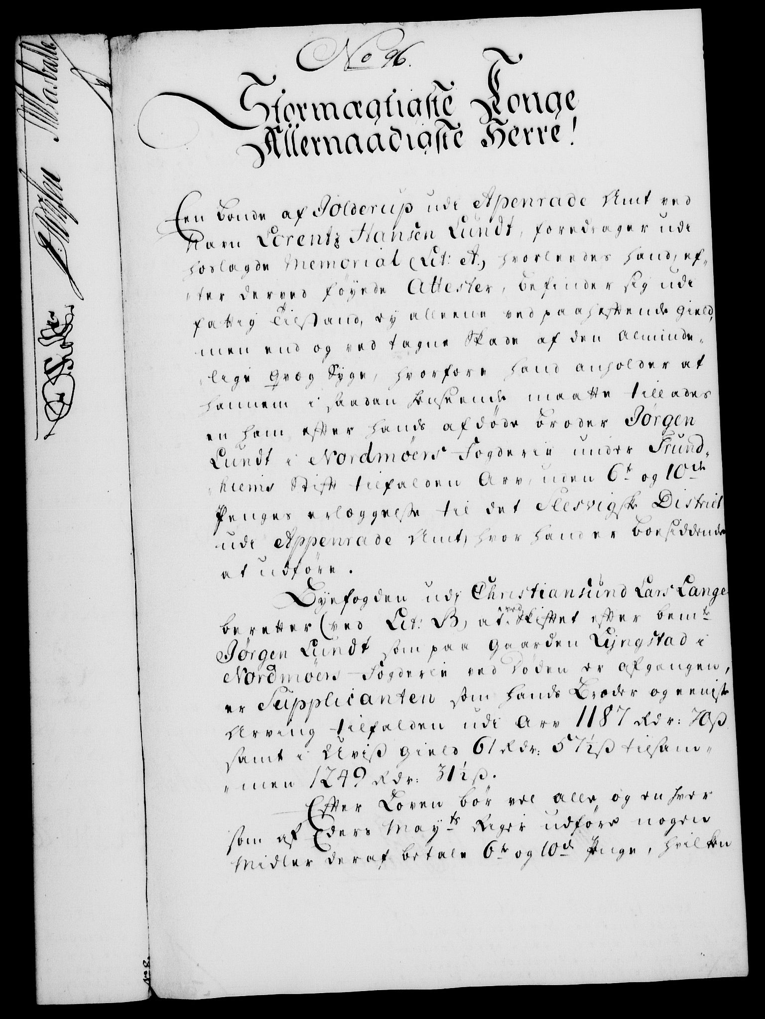 RA, Rentekammeret, Kammerkanselliet, G/Gf/Gfa/L0031: Norsk relasjons- og resolusjonsprotokoll (merket RK 52.31), 1749, s. 487