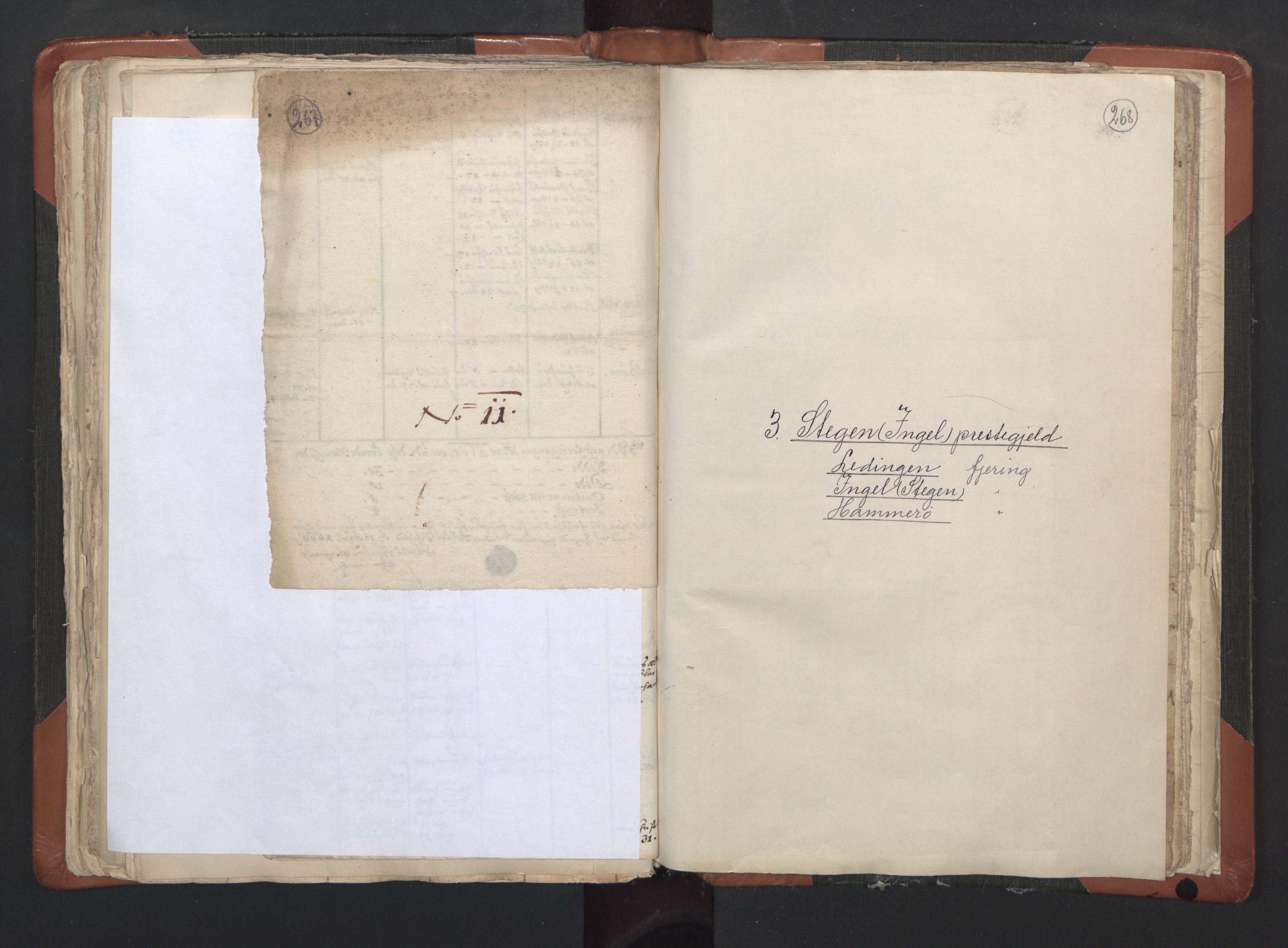 RA, Sogneprestenes manntall 1664-1666, nr. 35: Helgeland prosti og Salten prosti, 1664-1666, s. 267-268