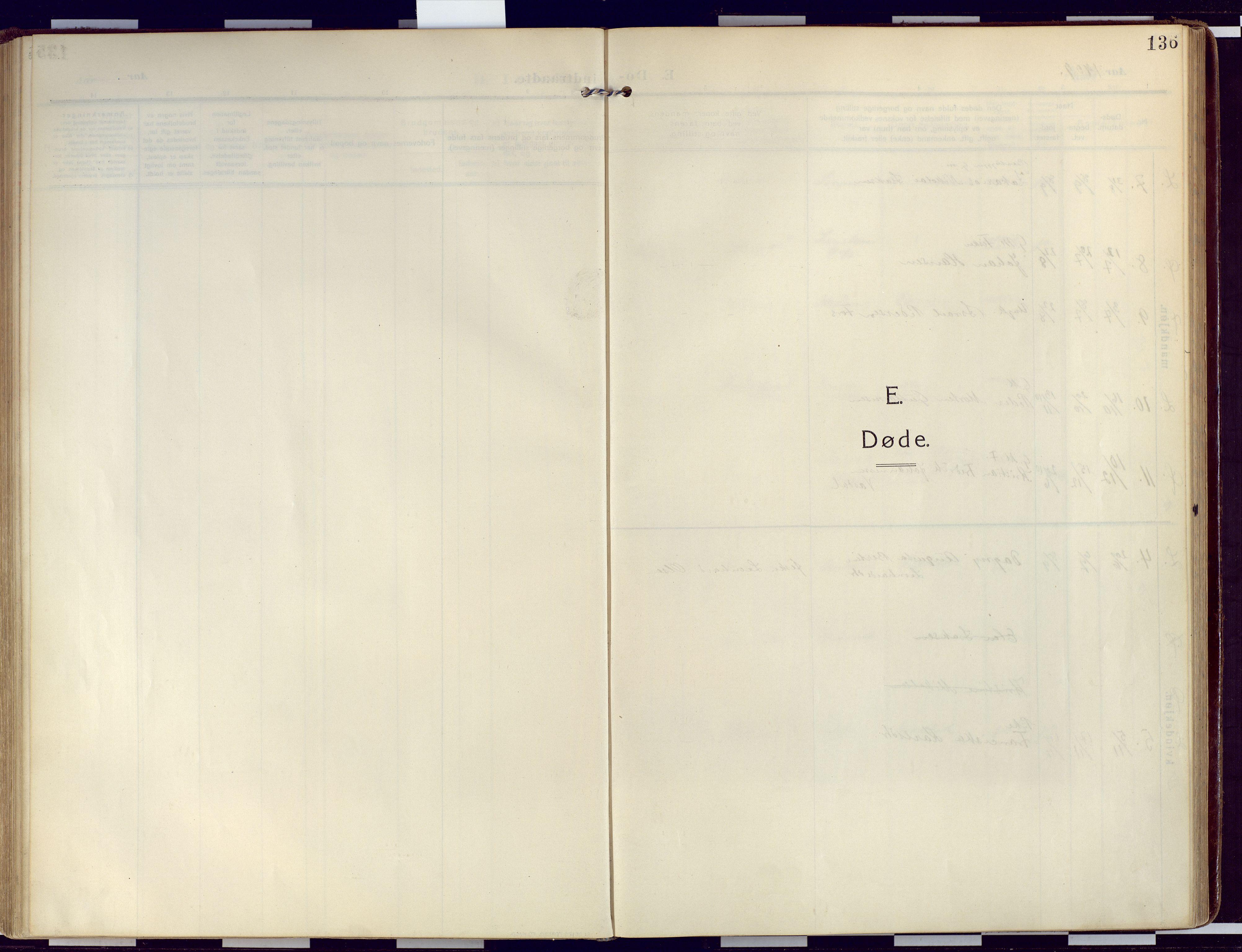 SATØ, Loppa sokneprestkontor, H/Ha/L0011kirke: Ministerialbok nr. 11, 1909-1919, s. 136