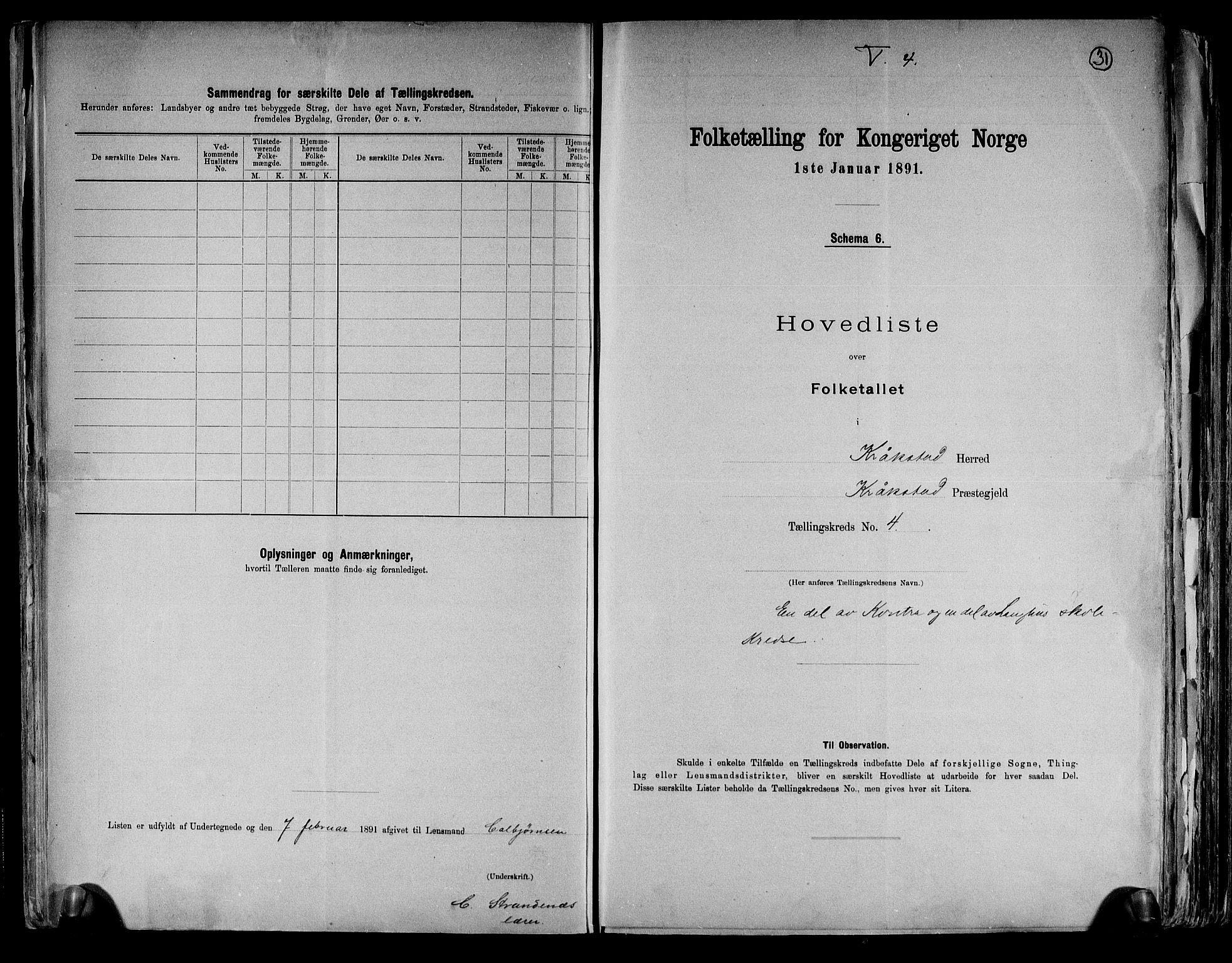 RA, Folketelling 1891 for 0212 Kråkstad herred, 1891, s. 12