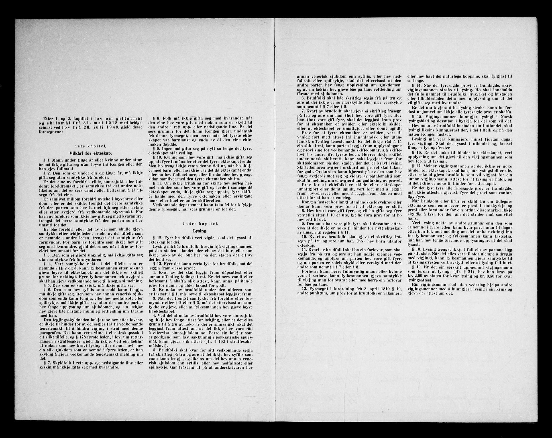 SAKO, Kviteseid kirkebøker, H/Ha/L0003: Lysningsprotokoll nr. 3, 1960-1969