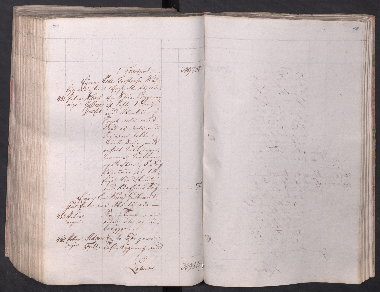 SAO, Kristiania stiftamt, I/Ia/L0015: Branntakster, 1797, s. 409