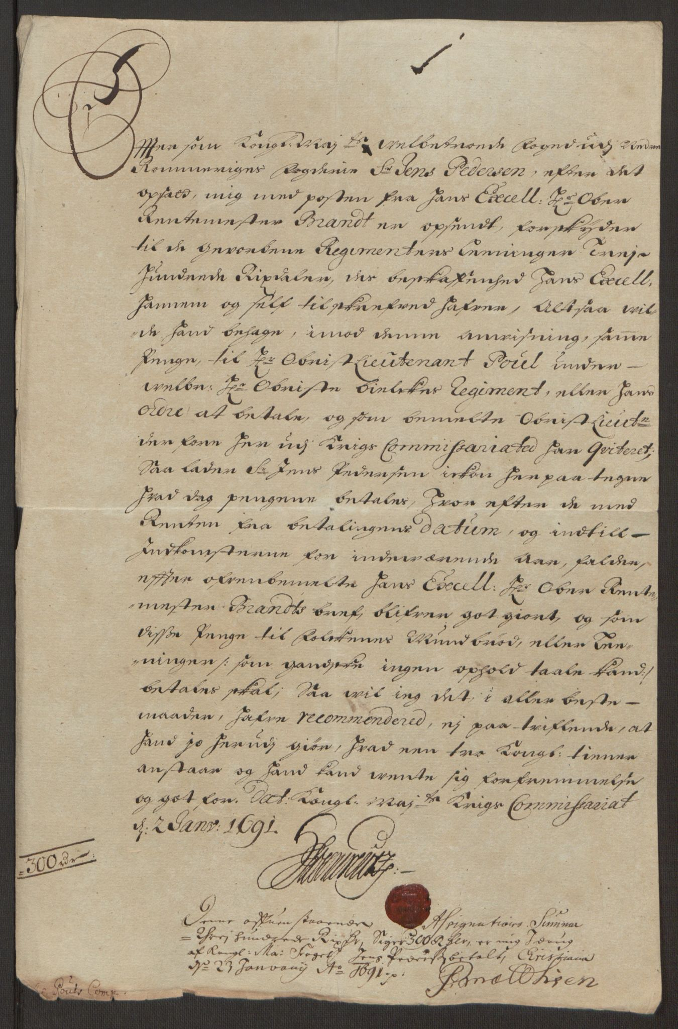 RA, Rentekammeret inntil 1814, Reviderte regnskaper, Fogderegnskap, R11/L0575: Fogderegnskap Nedre Romerike, 1691, s. 204