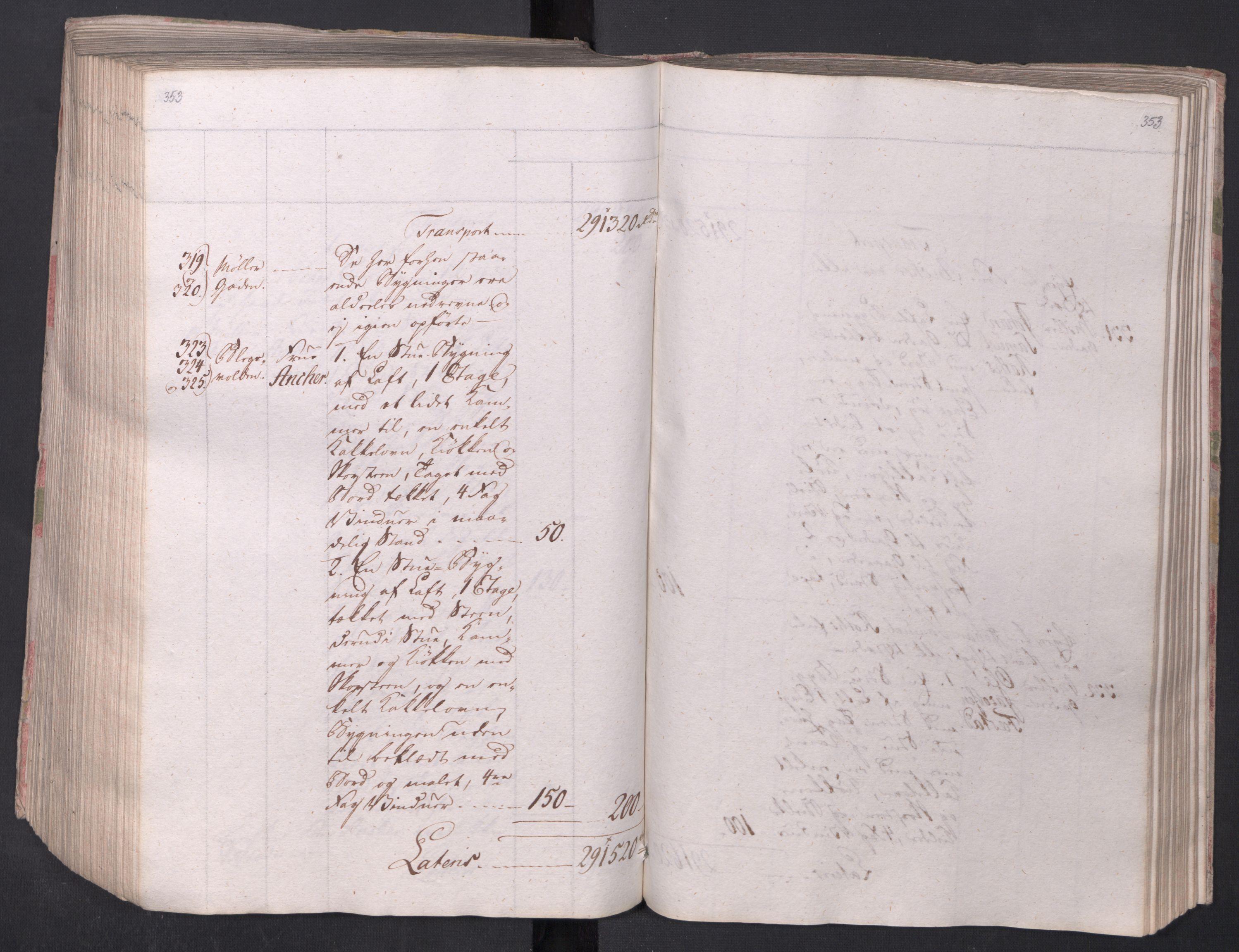 SAO, Kristiania stiftamt, I/Ia/L0015: Branntakster, 1797, s. 353