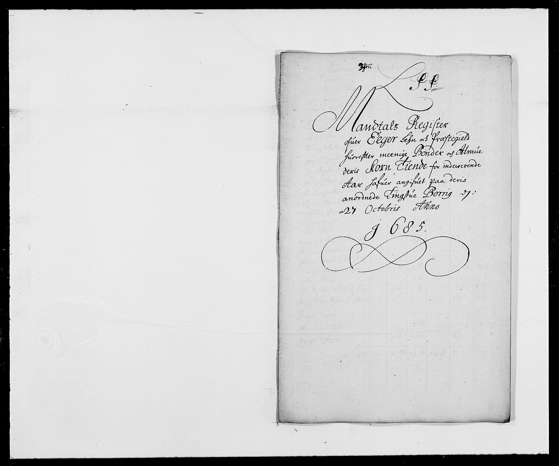 RA, Rentekammeret inntil 1814, Reviderte regnskaper, Fogderegnskap, R26/L1685: Fogderegnskap Eiker, 1679-1686, s. 56