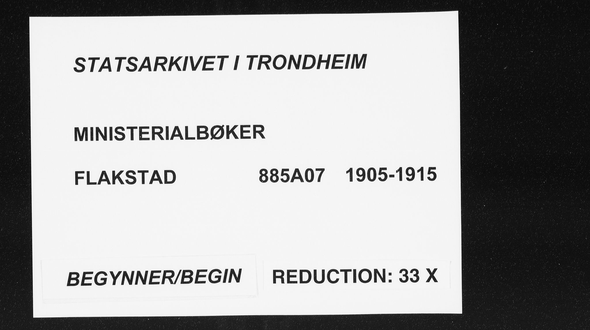SAT, Ministerialprotokoller, klokkerbøker og fødselsregistre - Nordland, 885/L1206: Ministerialbok nr. 885A07, 1905-1915