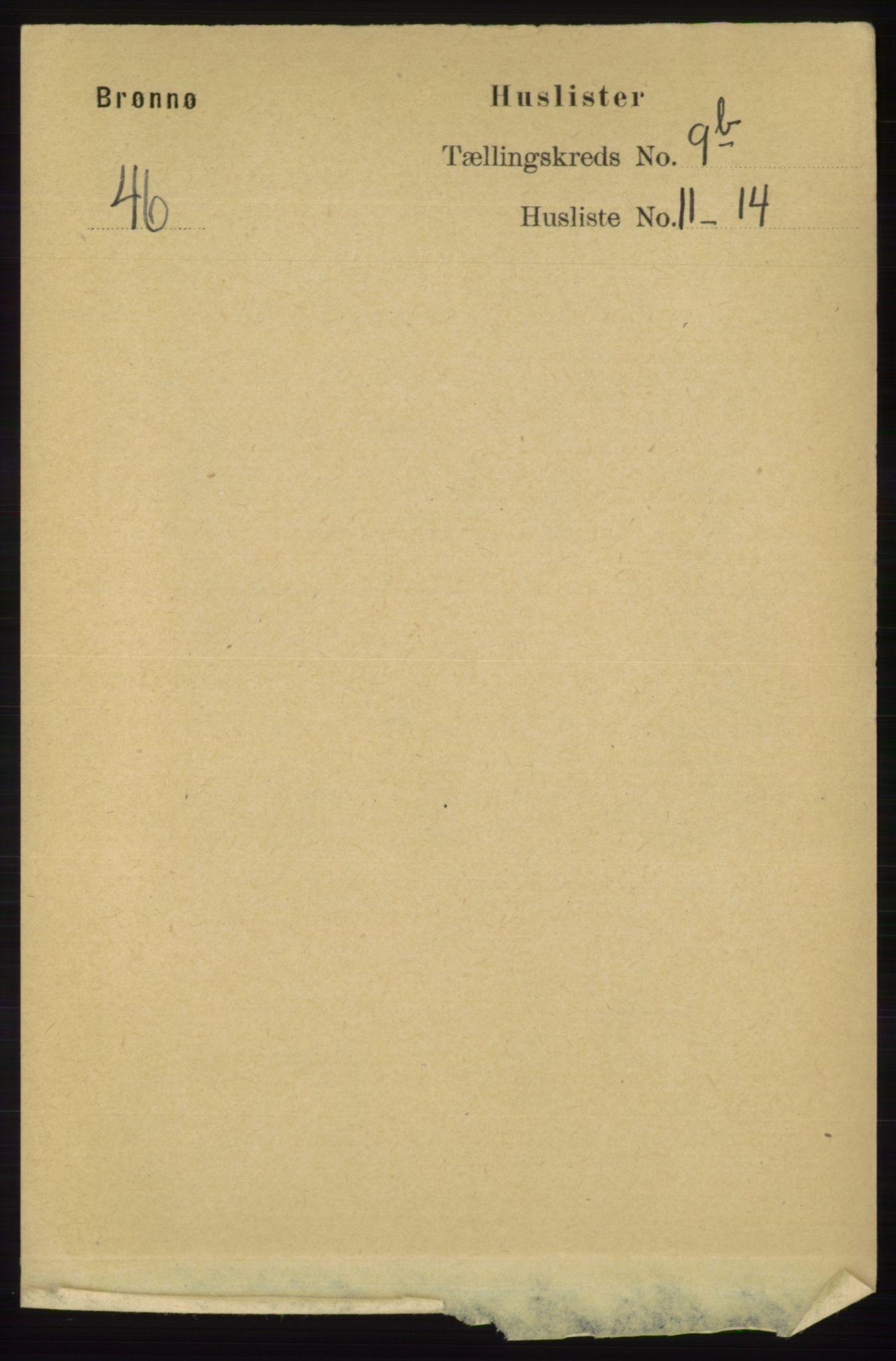 RA, Folketelling 1891 for 1814 Brønnøy herred, 1891, s. 5475