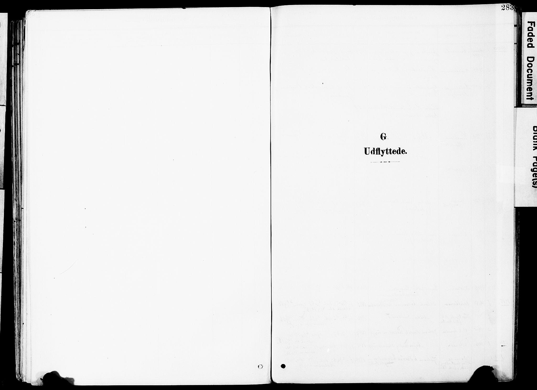 SAO, Vestby prestekontor Kirkebøker, F/Fa/L0010: Ministerialbok nr. I 10, 1900-1926, s. 283