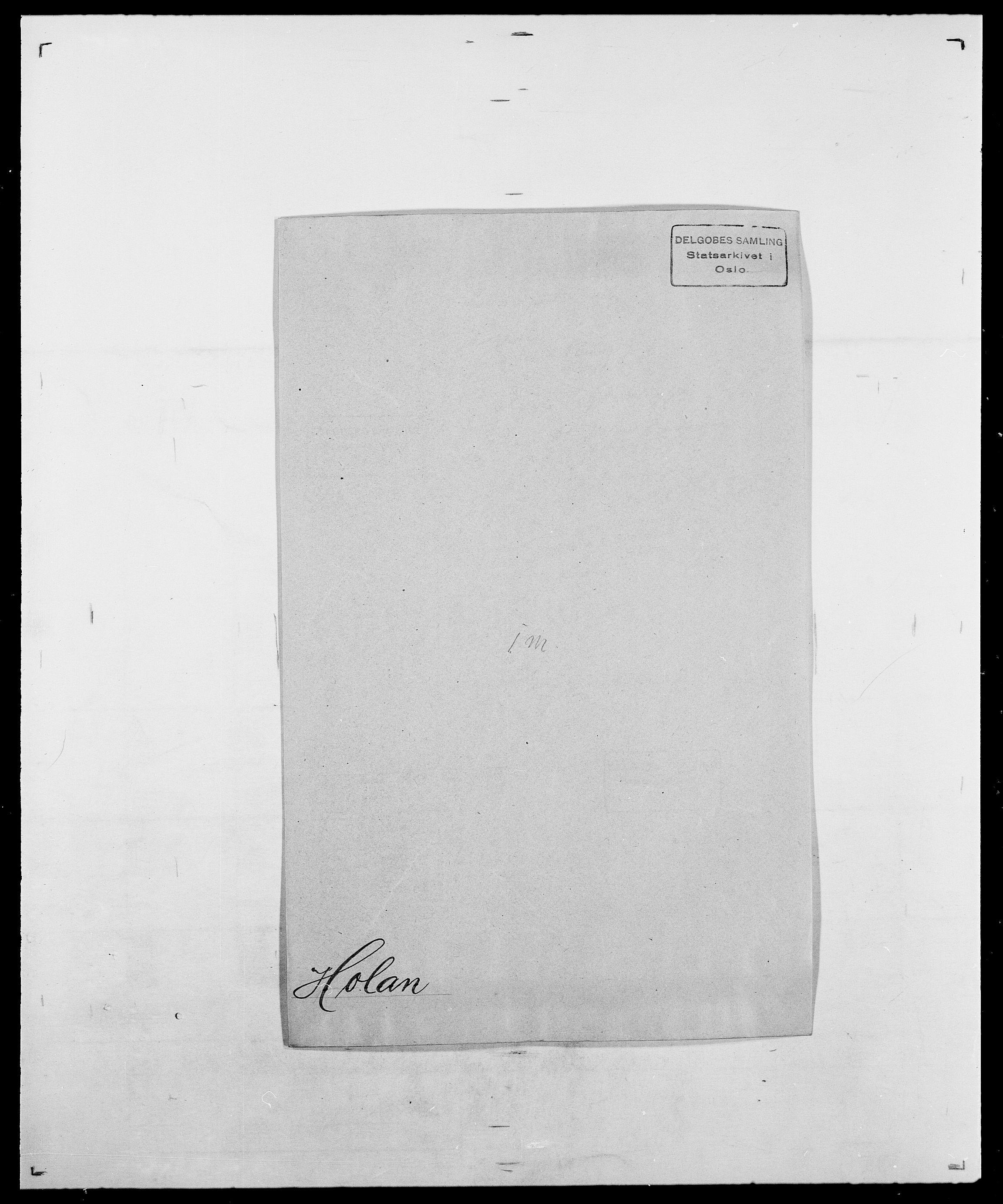 SAO, Delgobe, Charles Antoine - samling, D/Da/L0018: Hoch - Howert, s. 153