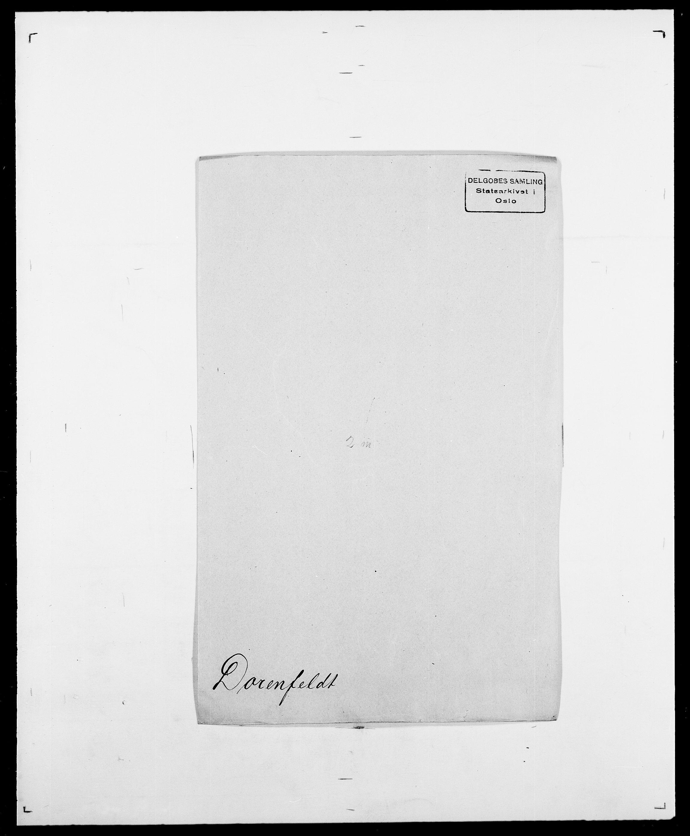 SAO, Delgobe, Charles Antoine - samling, D/Da/L0009: Dahl - v. Düren, s. 673