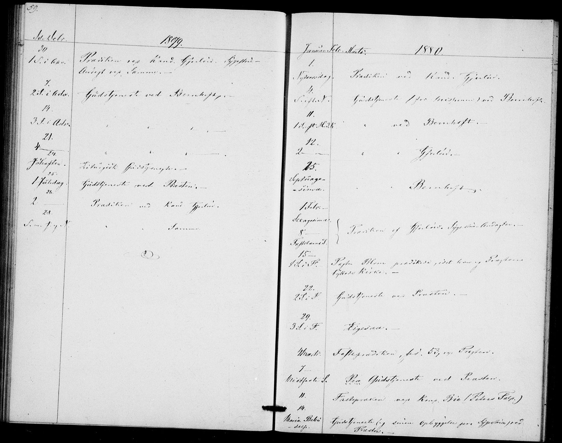 SAO, Akershus festnings slaveri Kirkebøker, F/Fa/L0002: Ministerialbok nr. 2, 1852-1883, s. 59
