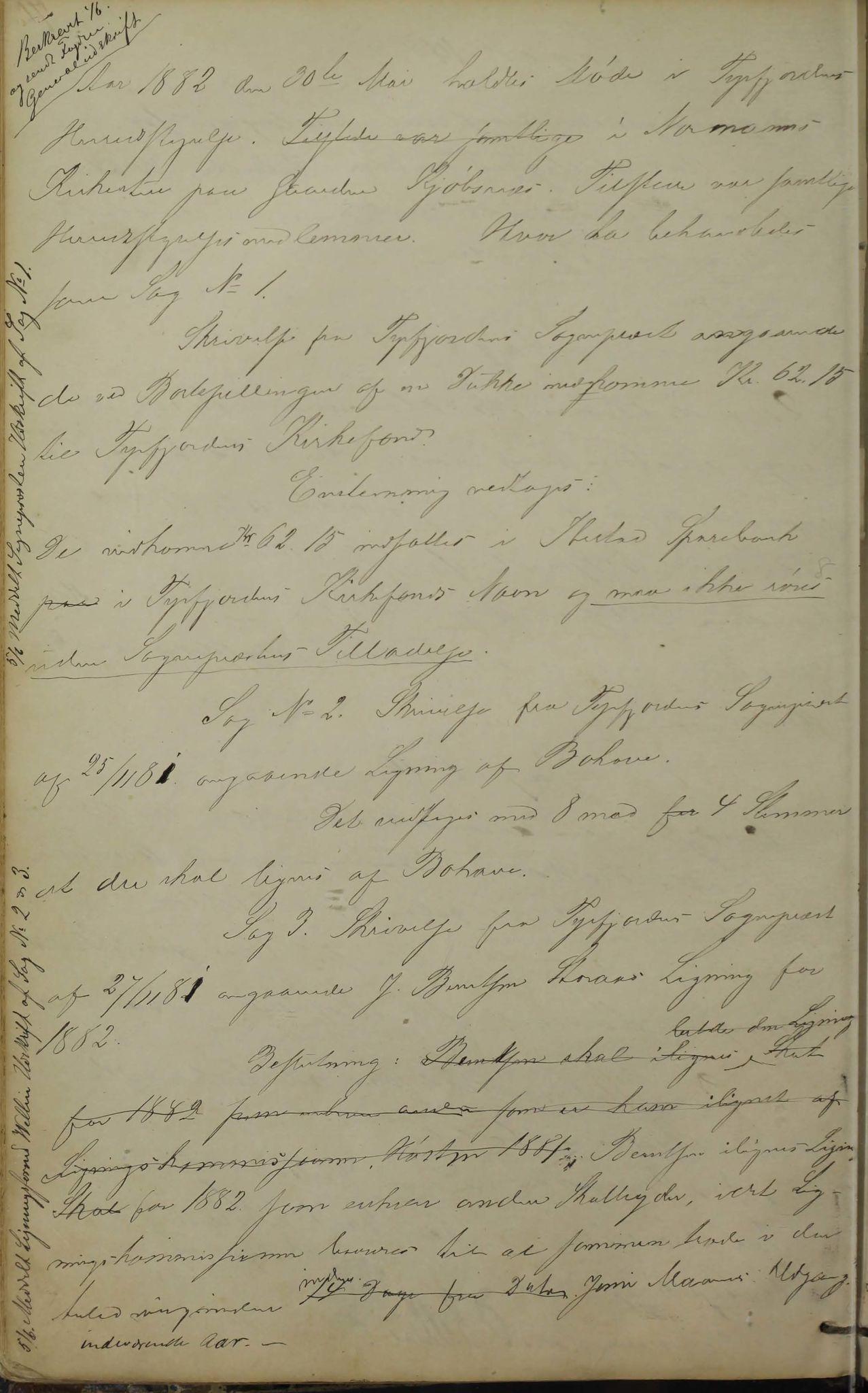 AIN, Tysfjord kommune. Formannskapet, 100/L0001: Forhandlingsprotokoll for Tysfjordens formandskab, 1869-1895, s. 70b