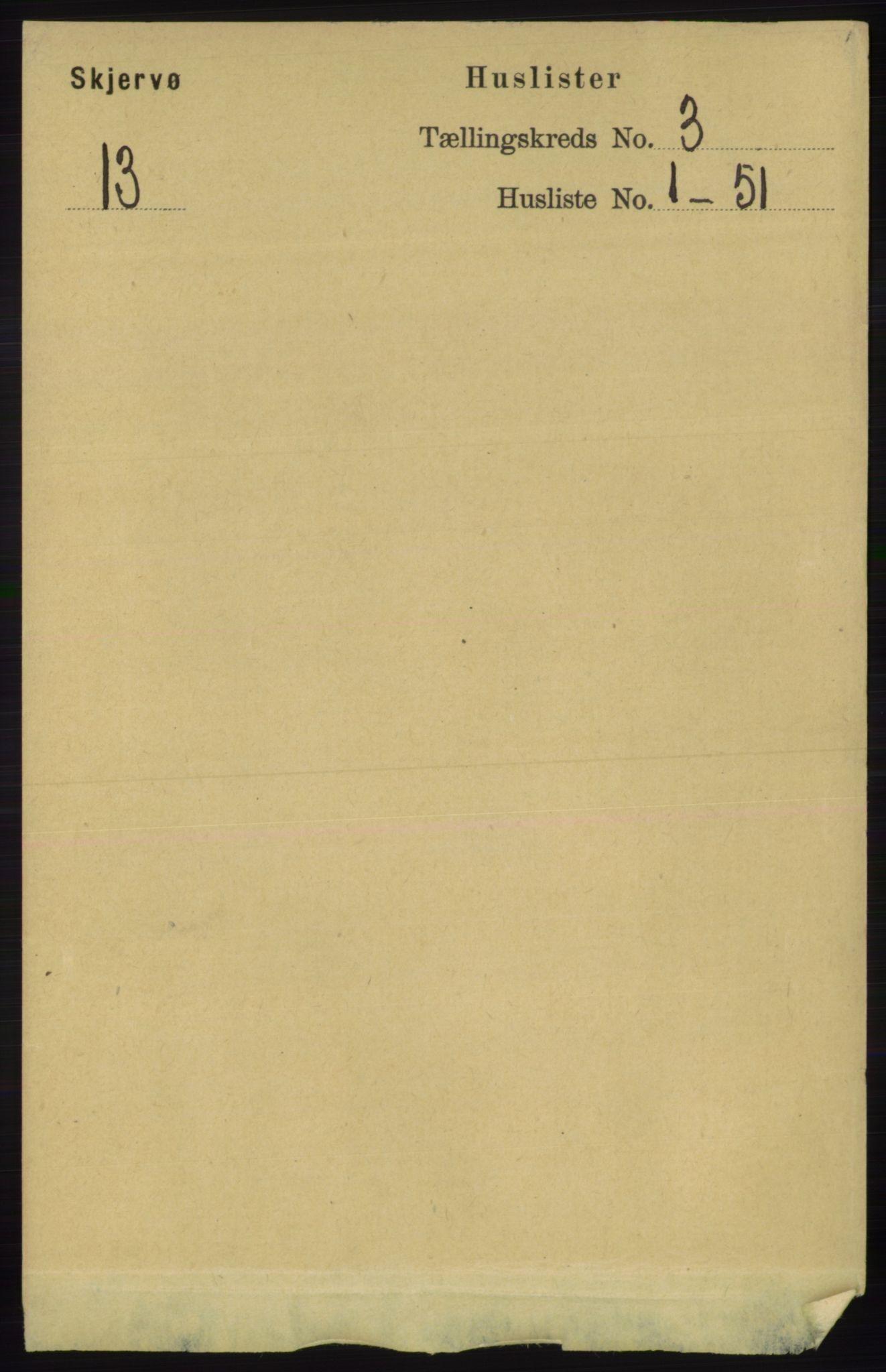 RA, Folketelling 1891 for 1941 Skjervøy herred, 1891, s. 1790