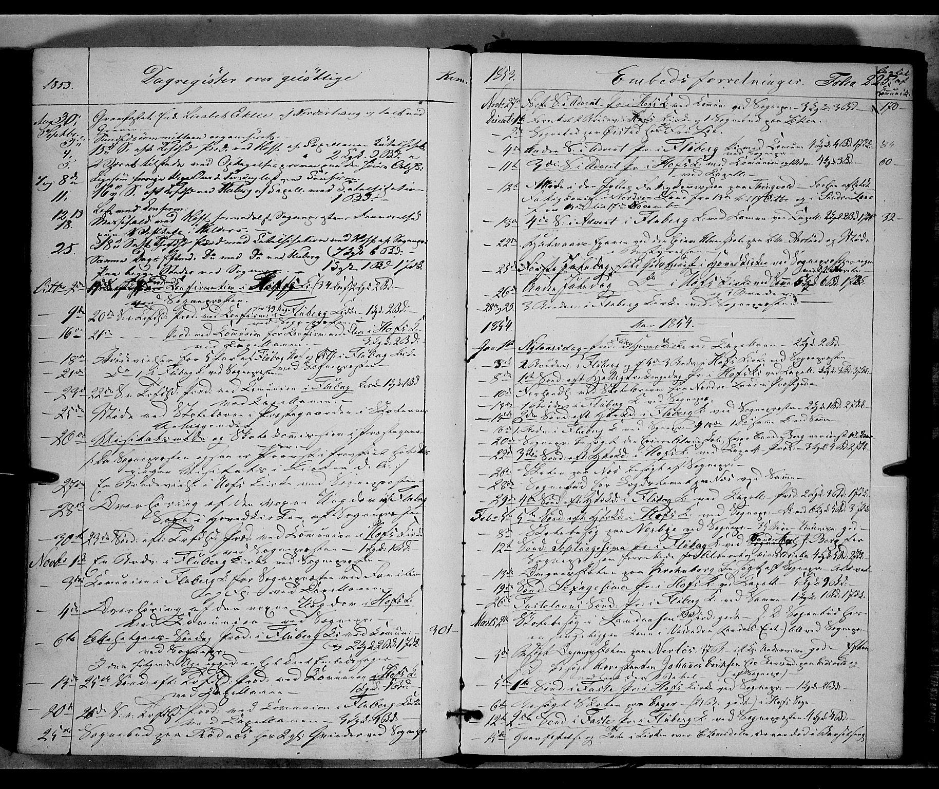 SAH, Land prestekontor, Ministerialbok nr. 9, 1847-1859, s. 225