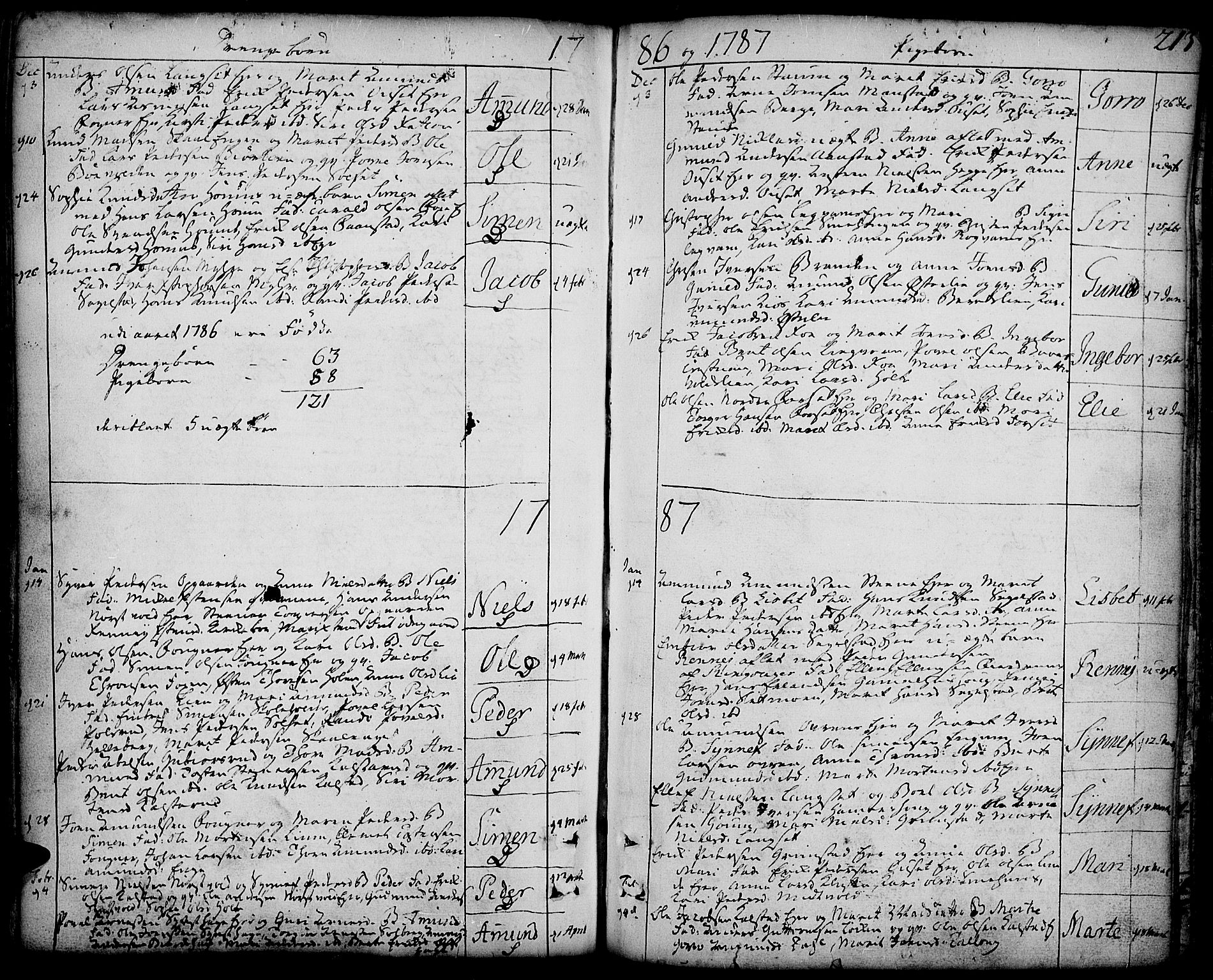 SAH, Gausdal prestekontor, Ministerialbok nr. 3, 1758-1809, s. 213
