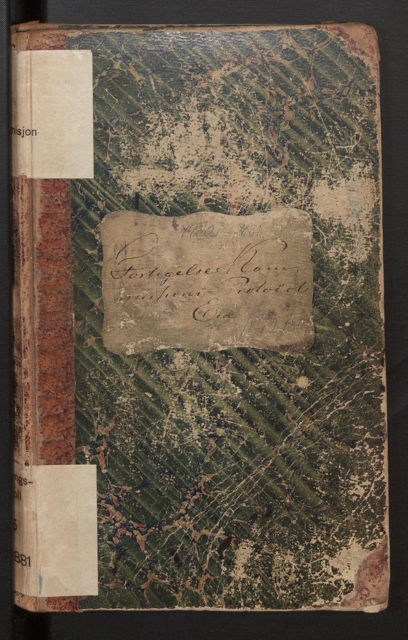 SAB, Eid (og Davik) forliksråd, A/L0005: Forhandlingsprotokoll, 1872-1881