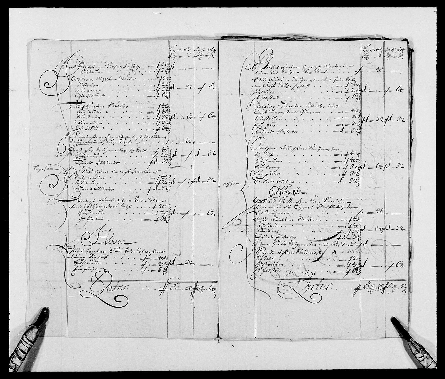 RA, Rentekammeret inntil 1814, Reviderte regnskaper, Fogderegnskap, R21/L1447: Fogderegnskap Ringerike og Hallingdal, 1687-1689, s. 202
