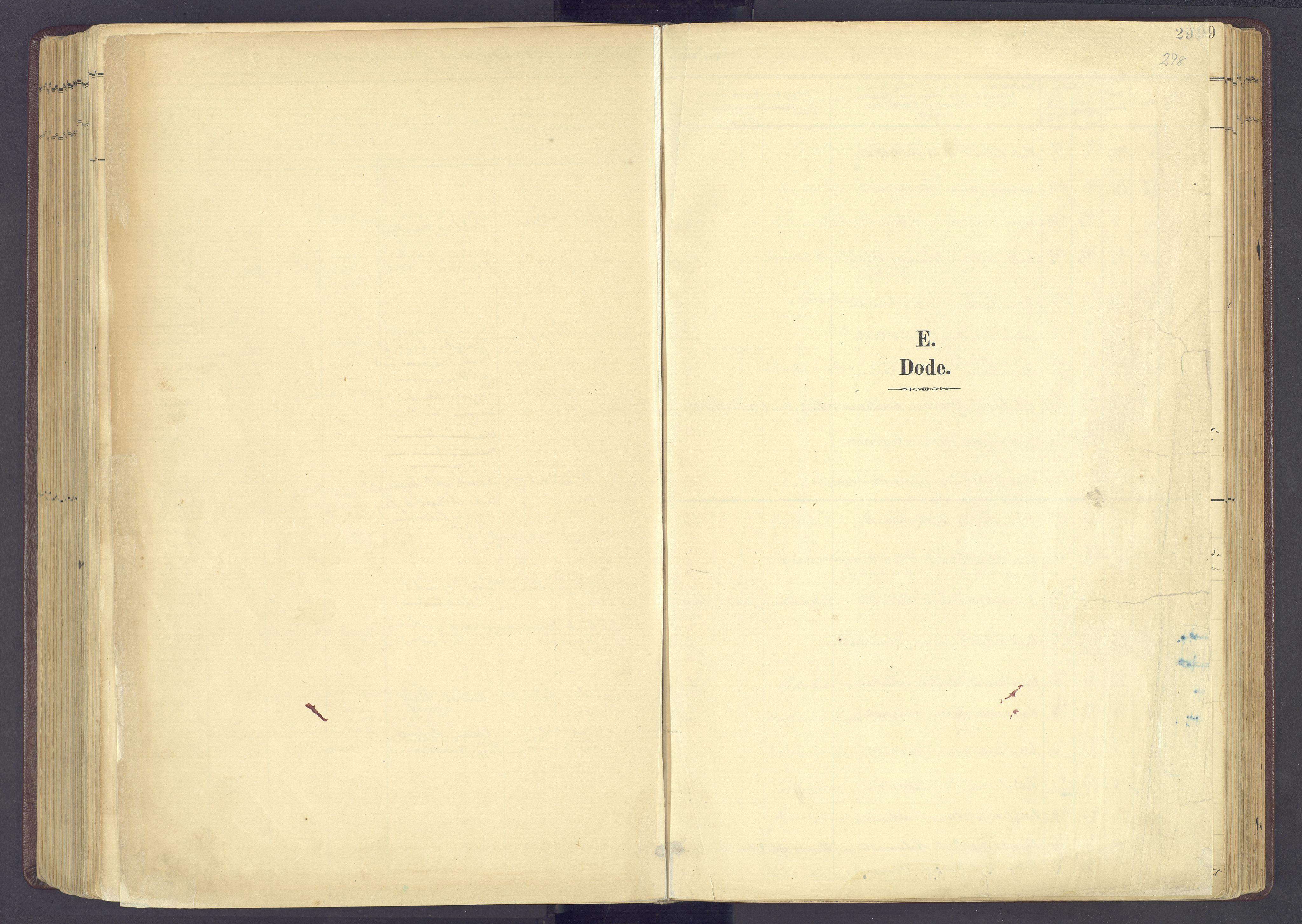SAH, Sør-Fron prestekontor, H/Ha/Haa/L0004: Ministerialbok nr. 4, 1898-1919, s. 298