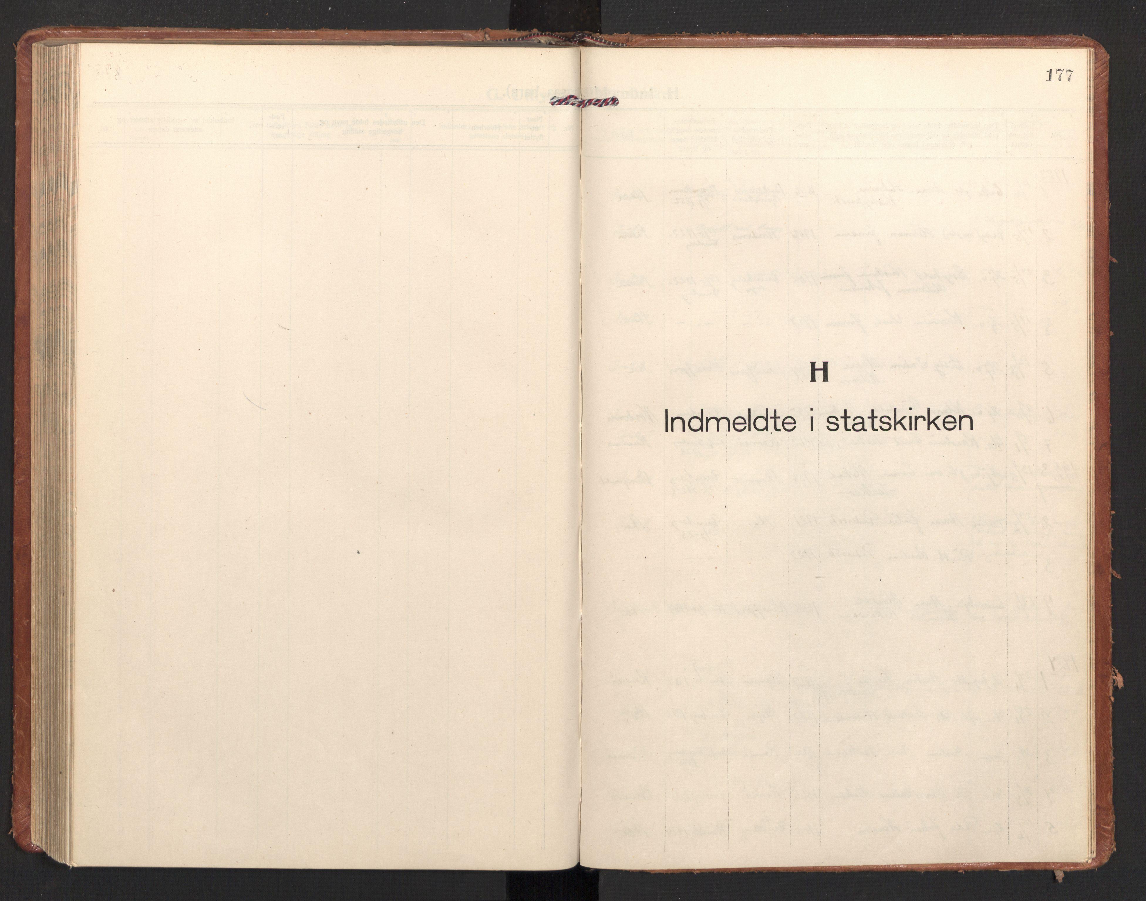 SAT, Ministerialprotokoller, klokkerbøker og fødselsregistre - Nordland, 897/L1408: Ministerialbok nr. 897A15, 1922-1938, s. 177