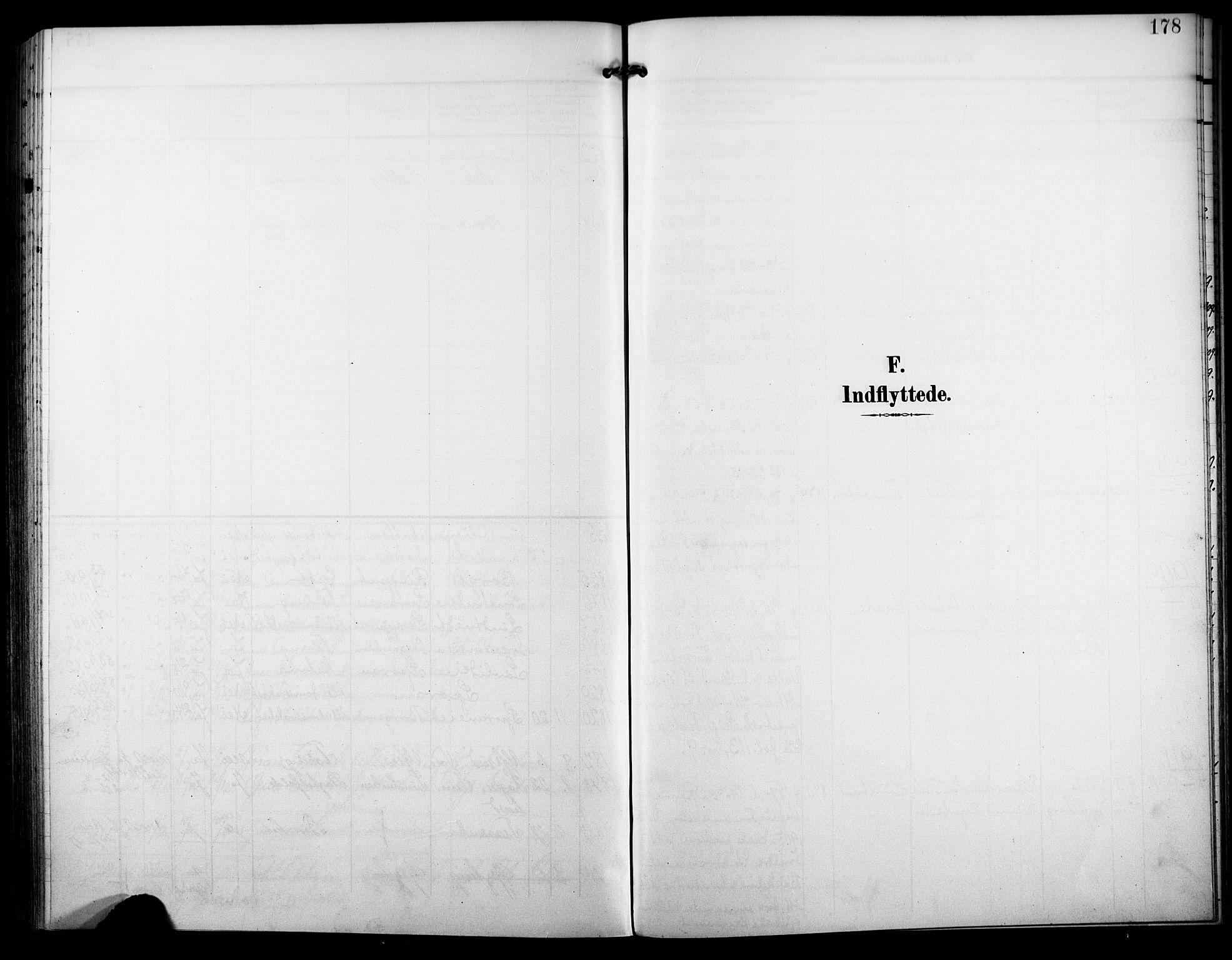 SAKO, Nore kirkebøker, F/Fb/L0003: Ministerialbok nr. II 3, 1906-1926, s. 178
