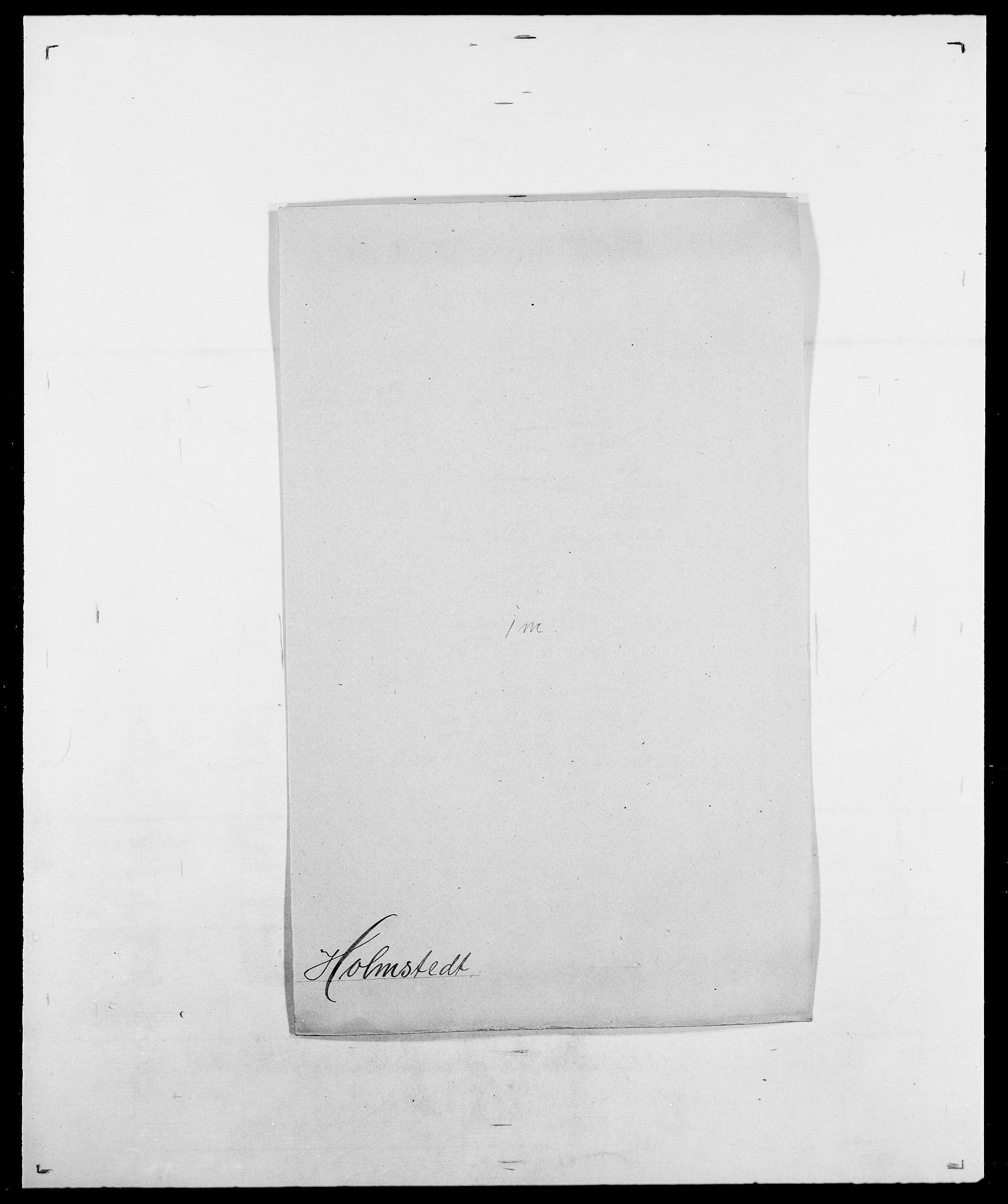 SAO, Delgobe, Charles Antoine - samling, D/Da/L0018: Hoch - Howert, s. 672