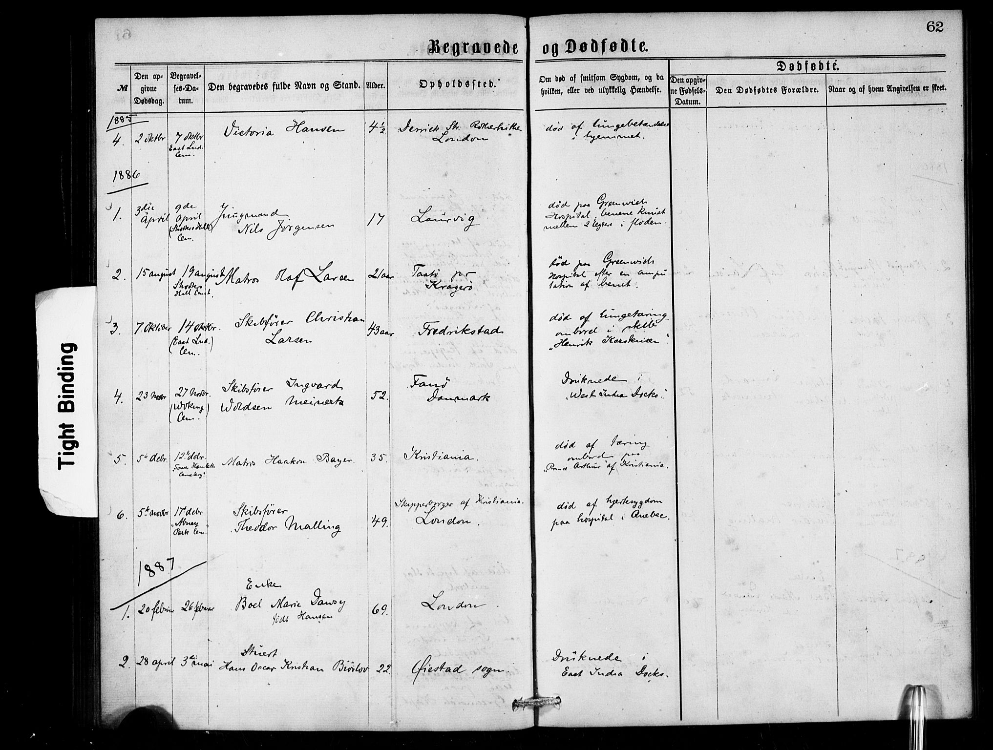 SAB, Den Norske Sjømannsmisjon i utlandet*, Ministerialbok nr. A 1, 1868-1887, s. 62