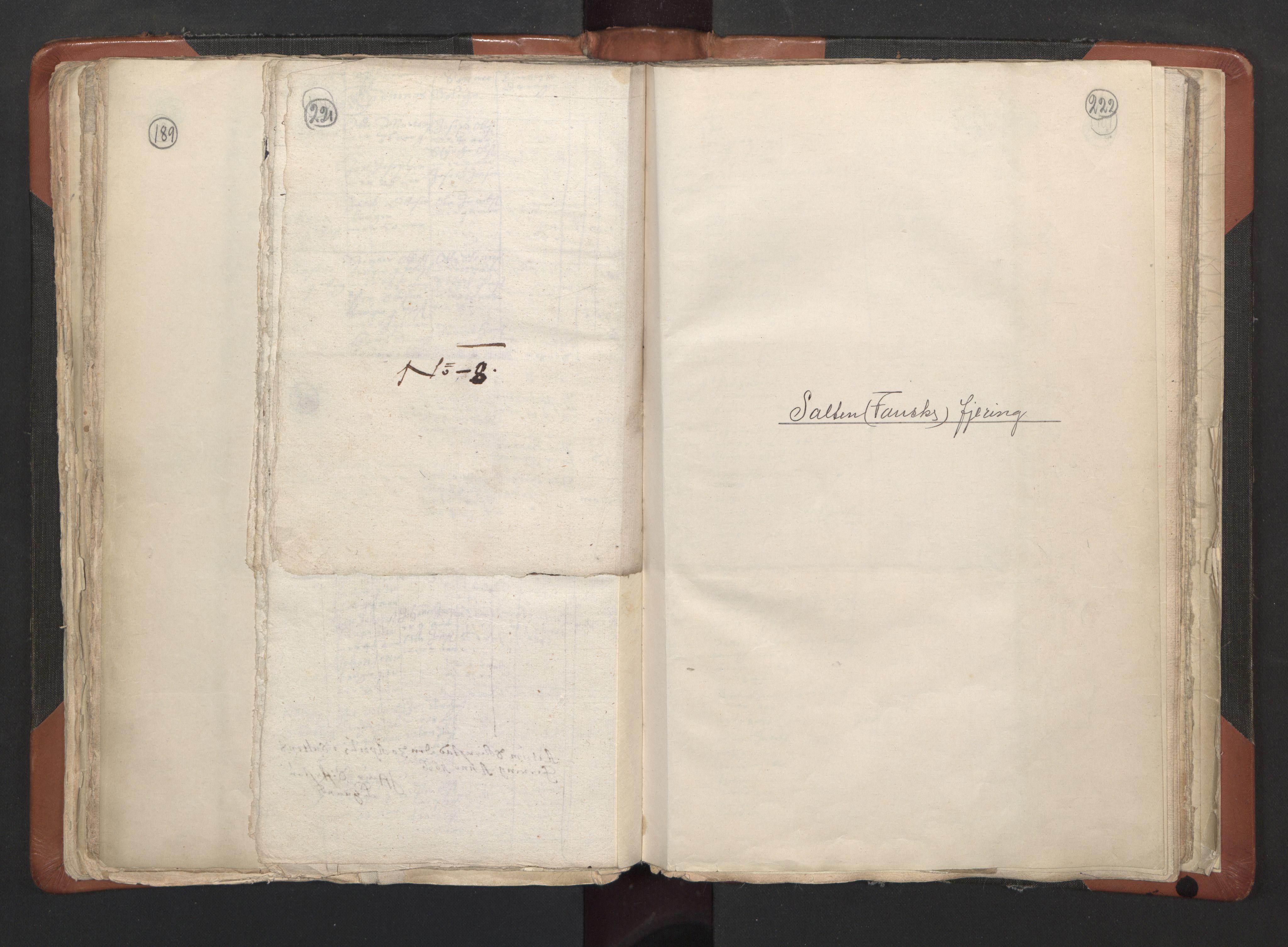 RA, Sogneprestenes manntall 1664-1666, nr. 35: Helgeland prosti og Salten prosti, 1664-1666, s. 221-222