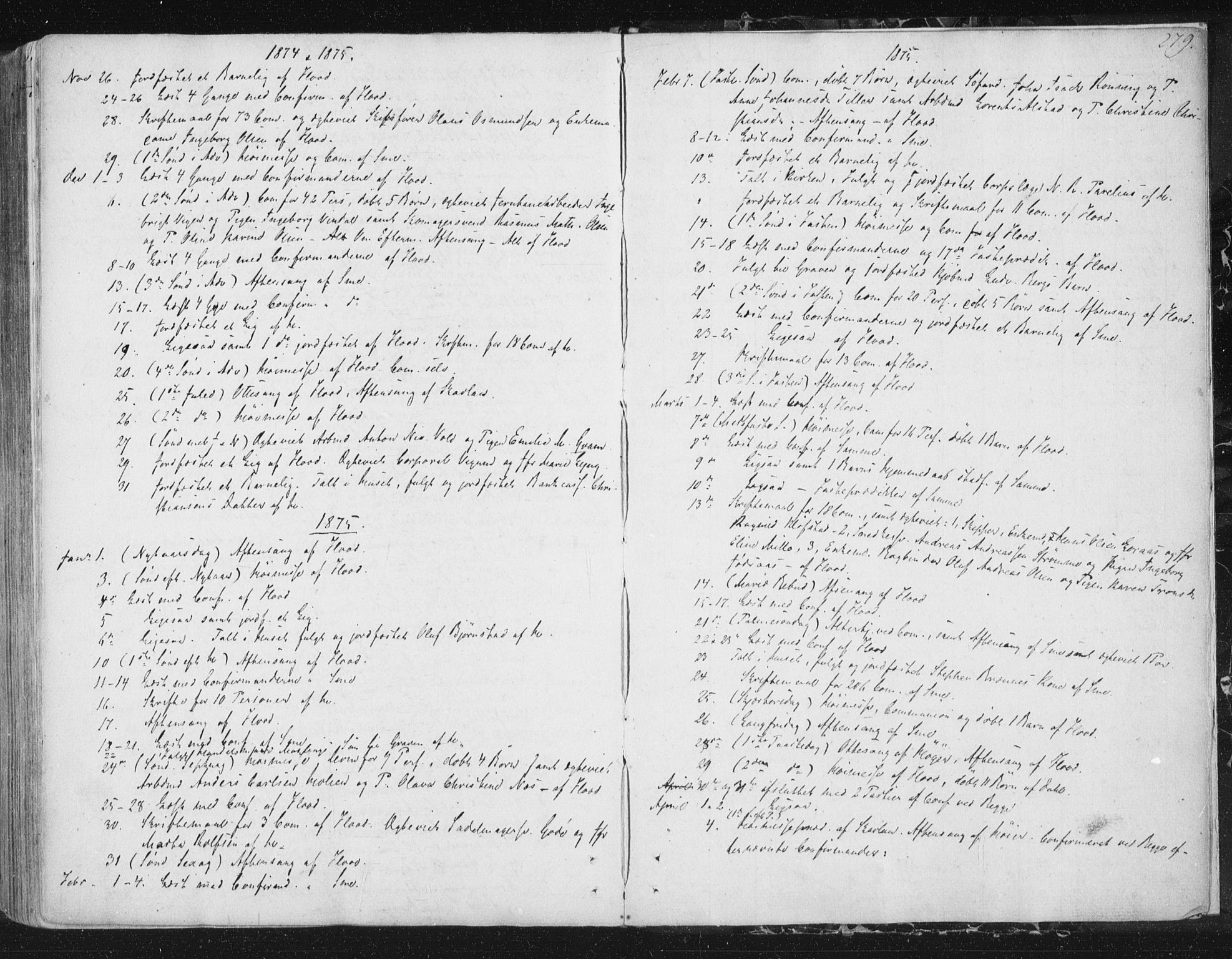 SAT, Ministerialprotokoller, klokkerbøker og fødselsregistre - Sør-Trøndelag, 602/L0127: Residerende kapellans bok nr. 602B01, 1821-1875, s. 279
