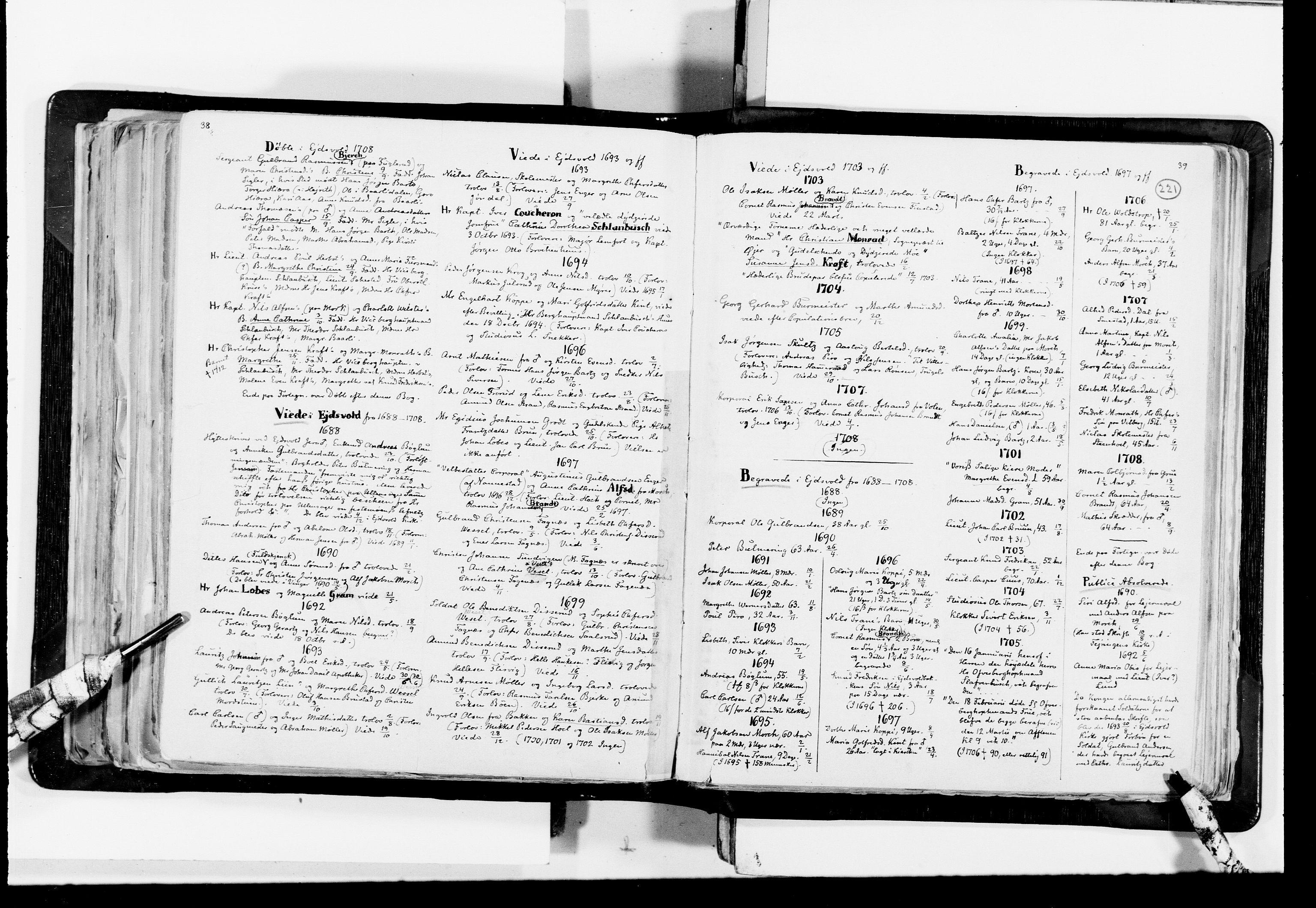 RA, Lassens samlinger, F/Fc, s. 221