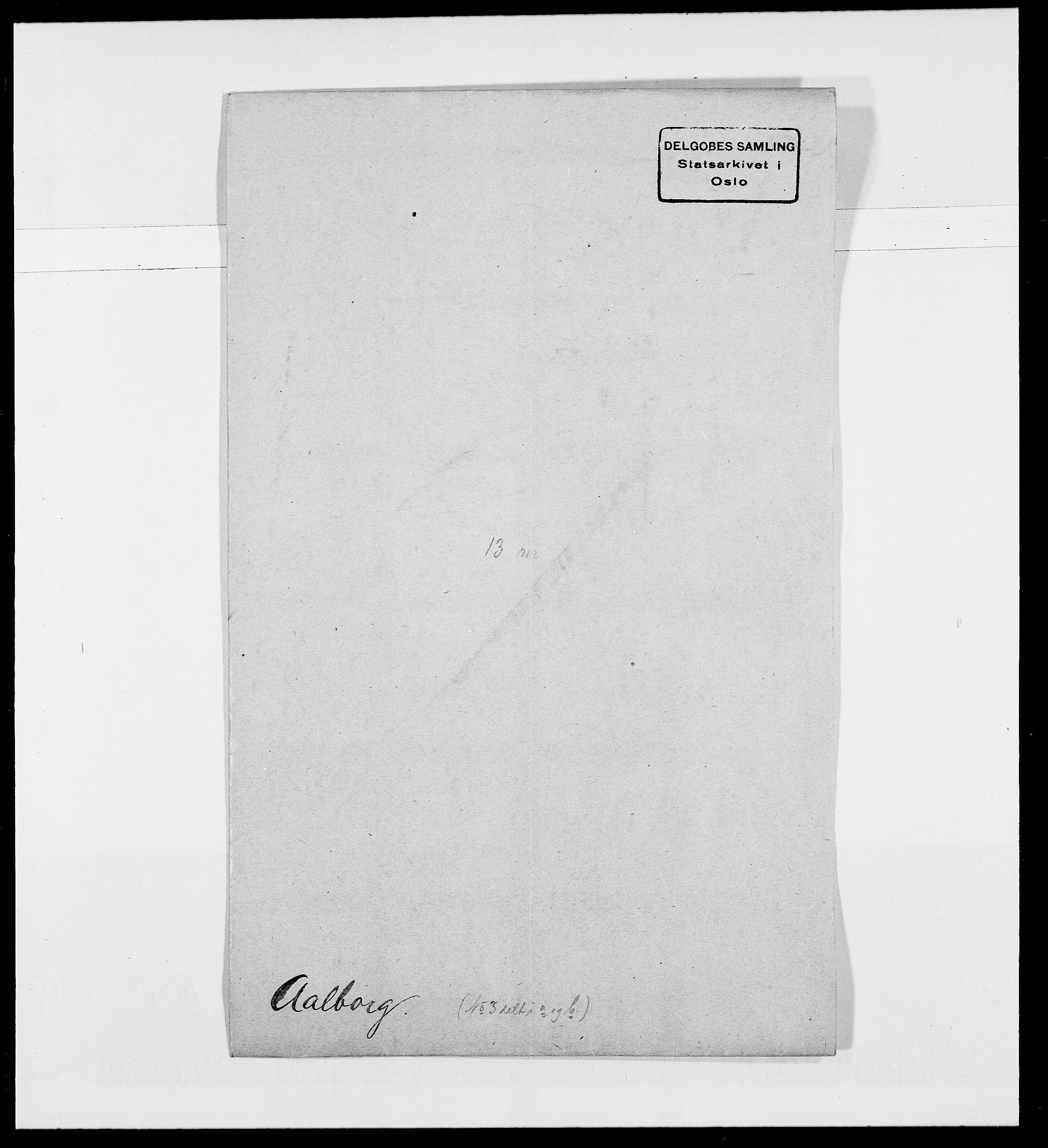 SAO, Delgobe, Charles Antoine - samling, D/Da/L0001: Aabye - Angerman, s. 45