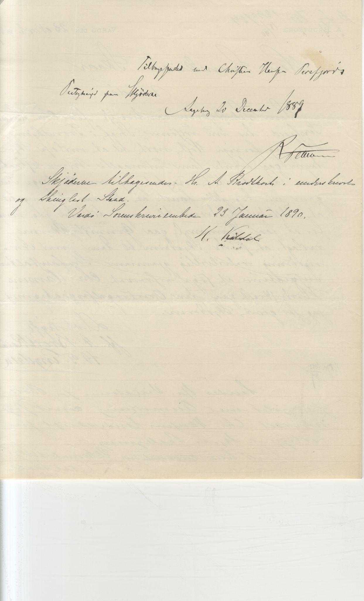 VAMU, Brodtkorb handel A/S, Q/Qb/L0003: Faste eiendommer i Vardø Herred, 1862-1939, s. 52