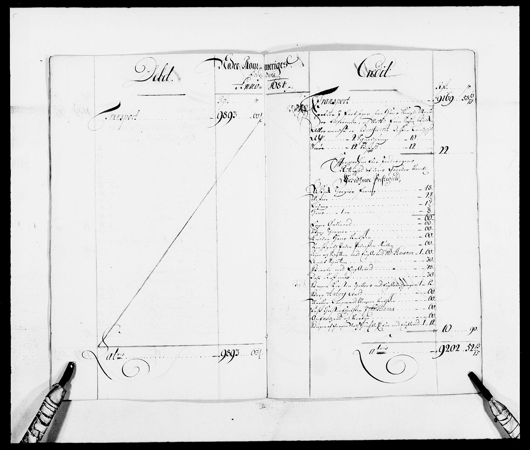 RA, Rentekammeret inntil 1814, Reviderte regnskaper, Fogderegnskap, R11/L0571: Fogderegnskap Nedre Romerike, 1683-1685, s. 171