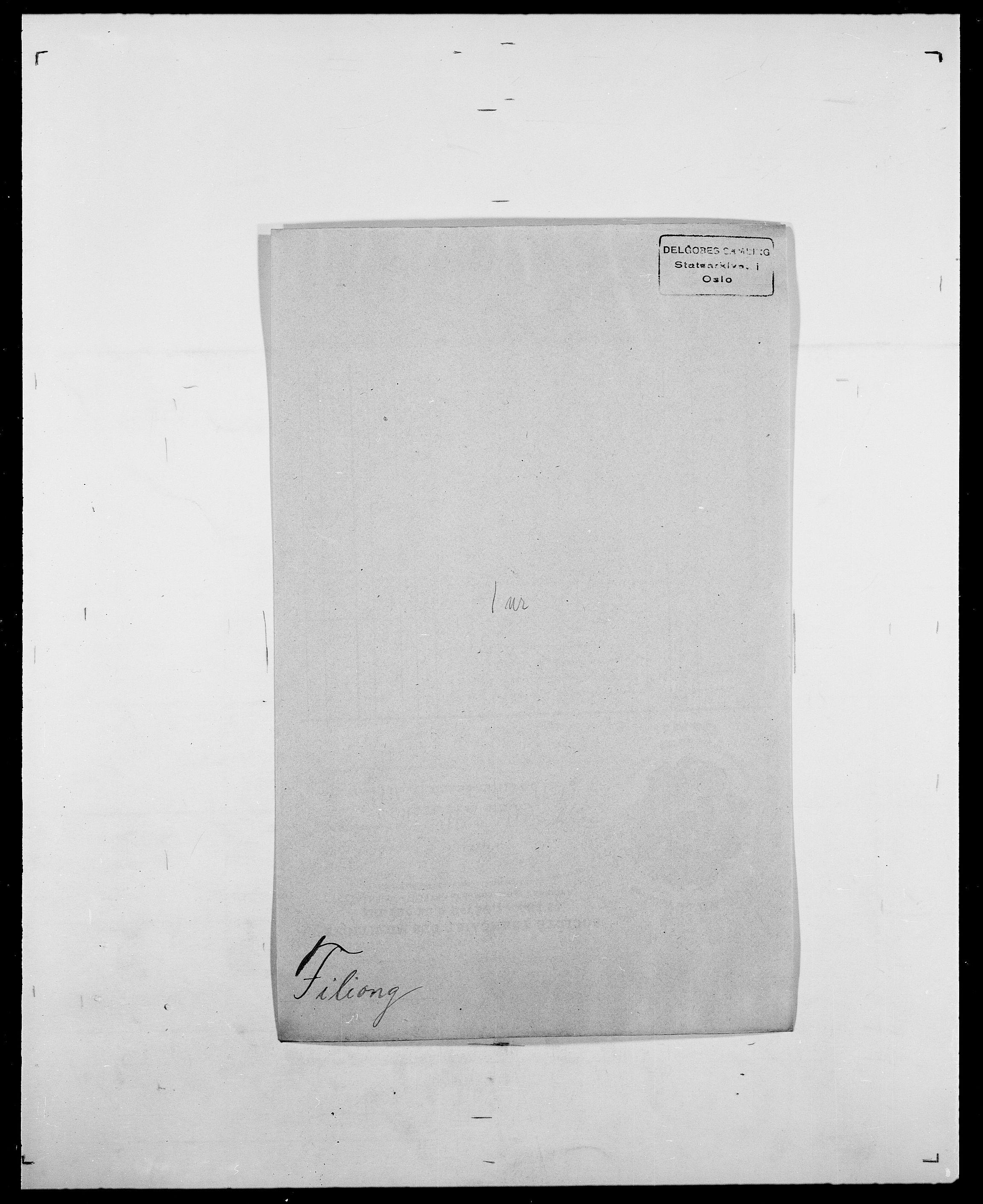SAO, Delgobe, Charles Antoine - samling, D/Da/L0011: Fahlander - Flood, Flod, s. 438