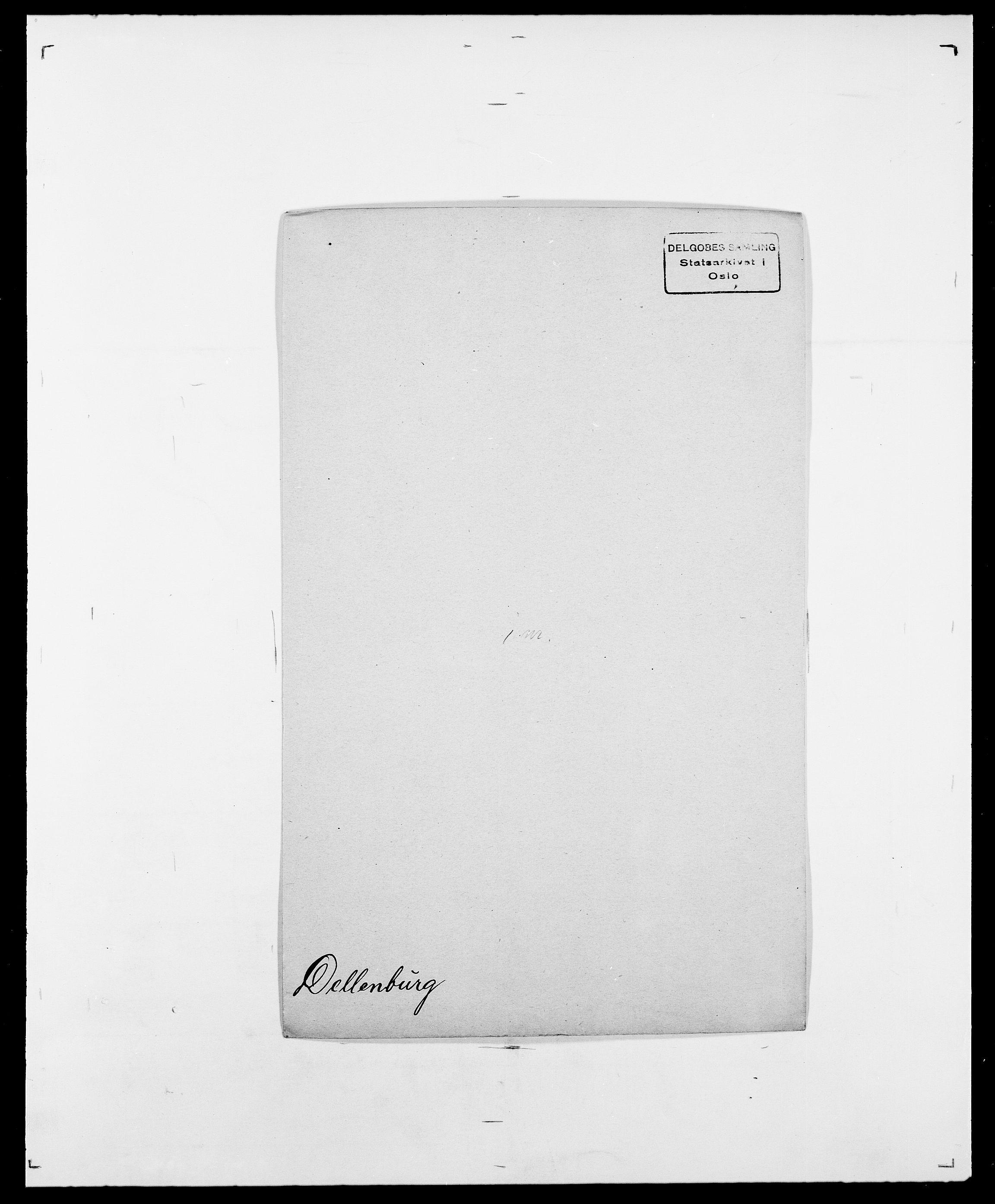 SAO, Delgobe, Charles Antoine - samling, D/Da/L0009: Dahl - v. Düren, s. 483