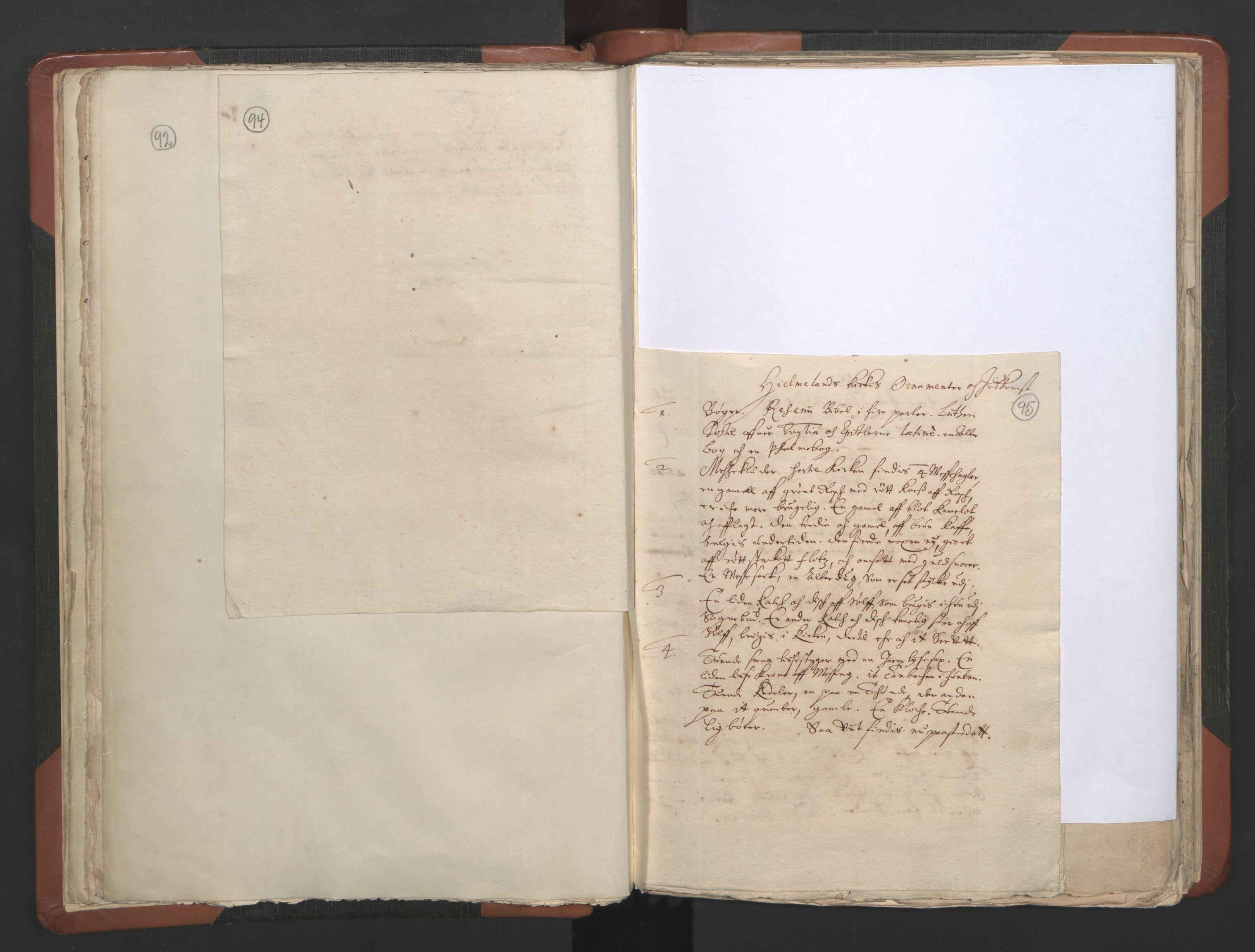 RA, Sogneprestenes manntall 1664-1666, nr. 19: Ryfylke prosti, 1664-1666, s. 94-95