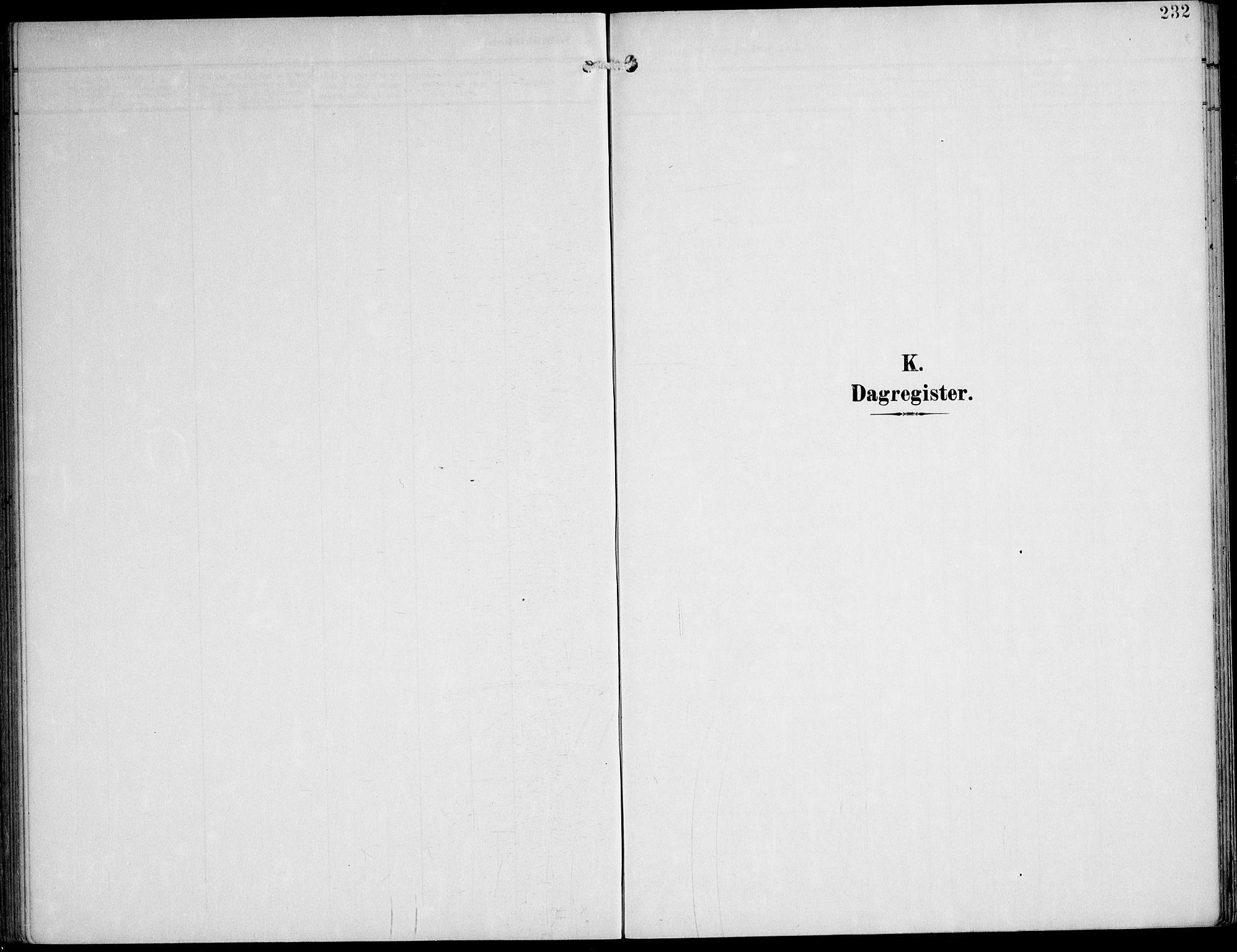 SAT, Ministerialprotokoller, klokkerbøker og fødselsregistre - Nord-Trøndelag, 788/L0698: Ministerialbok nr. 788A05, 1902-1921, s. 232