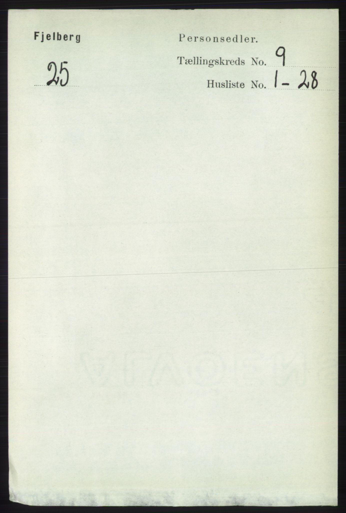 RA, Folketelling 1891 for 1213 Fjelberg herred, 1891, s. 3419